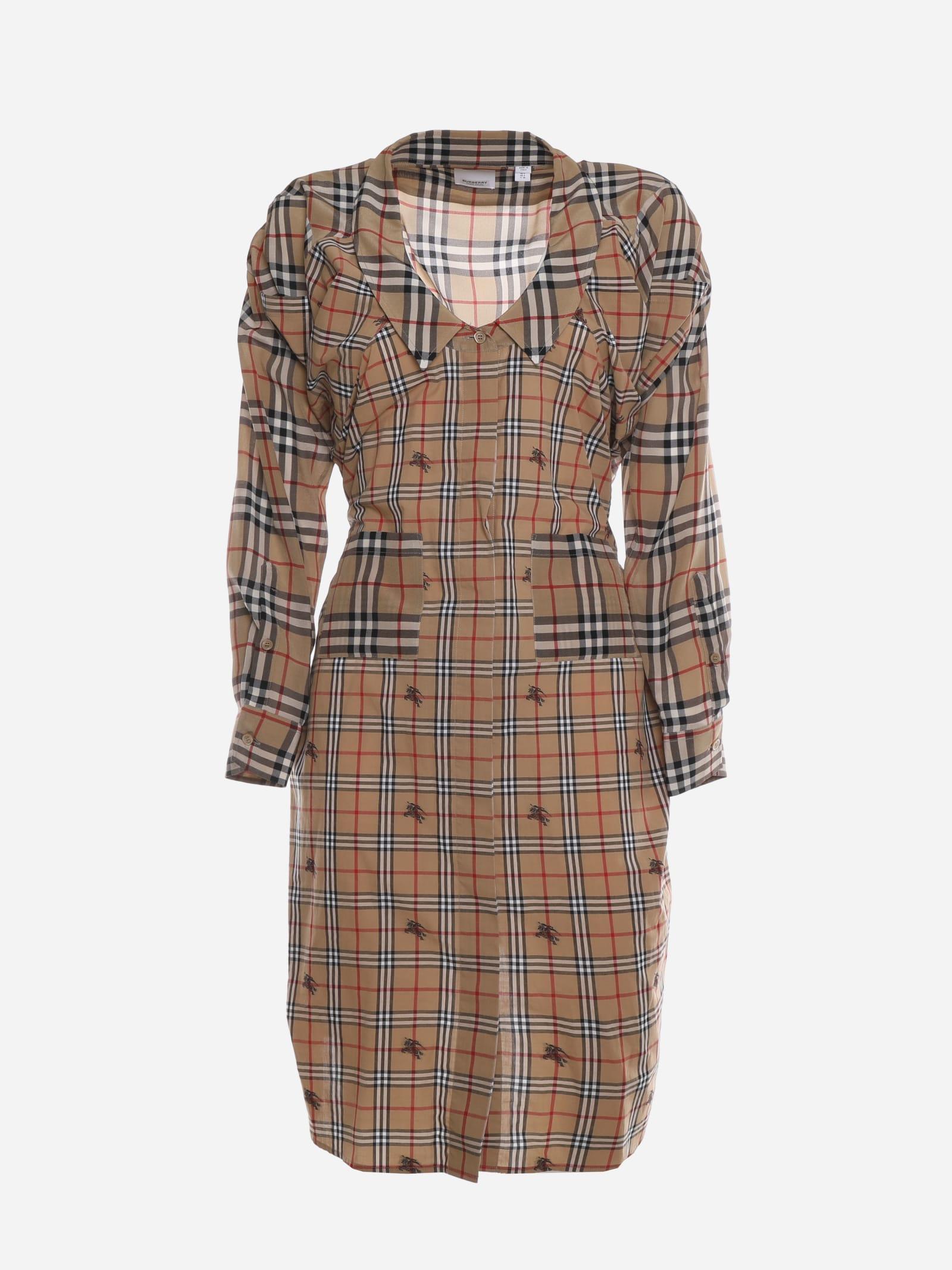 Burberry Cotton Shirt Dress