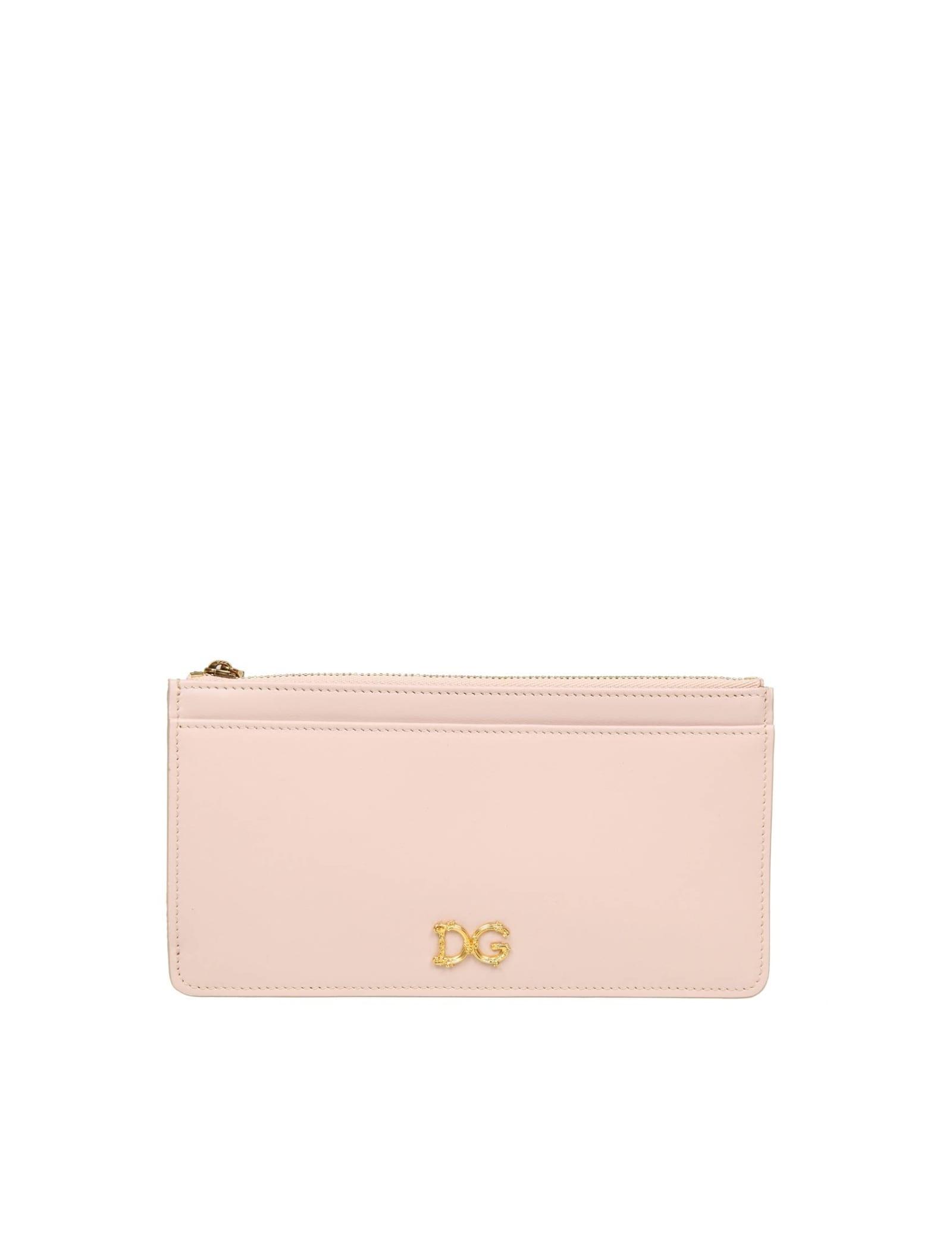 Dolce & Gabbana POWDER CARD HOLDER COLOR POWDER
