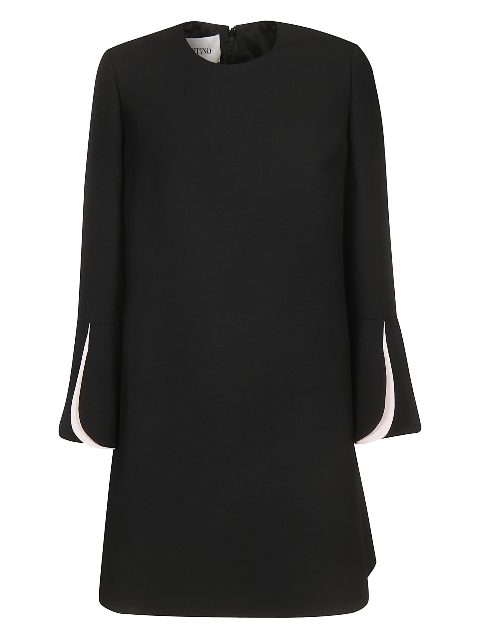 Photo of  Valentino Rear Zipped Dress- shop Valentino  online sales