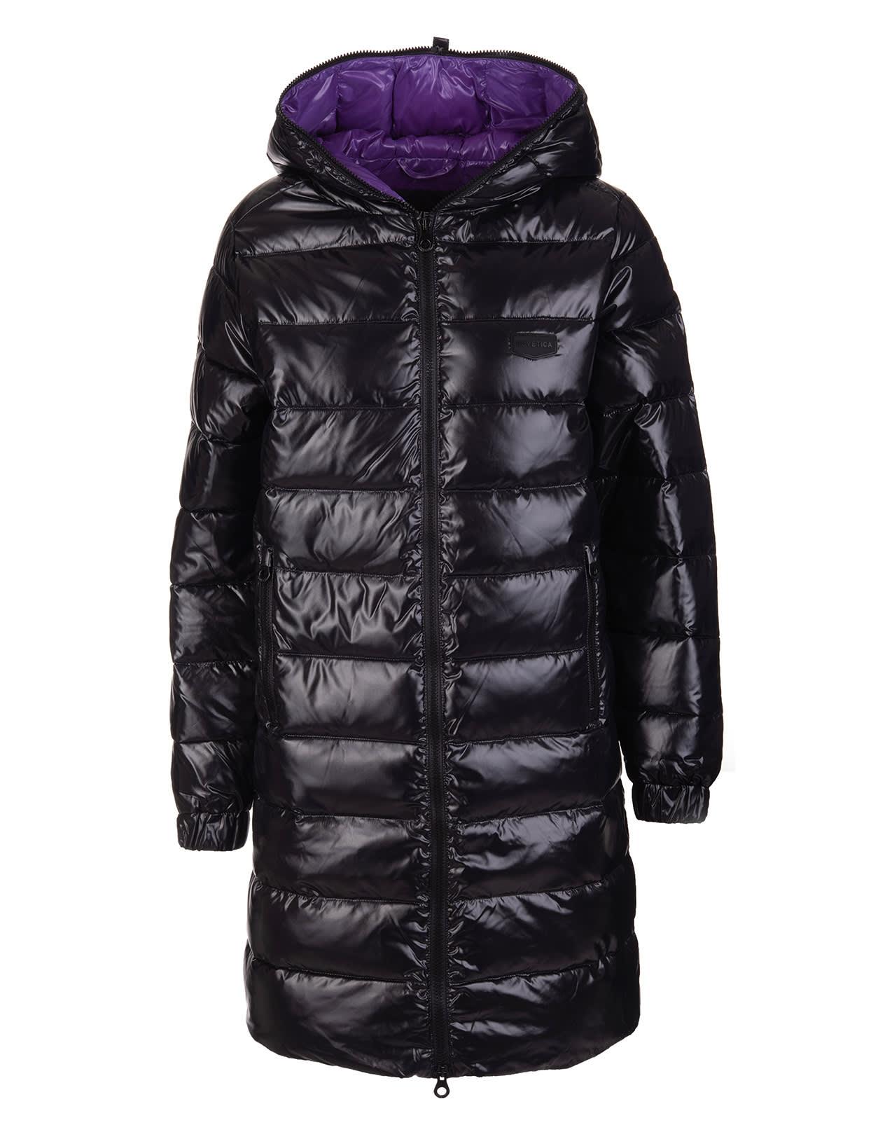 Woman Black Tyldue Down Jacket