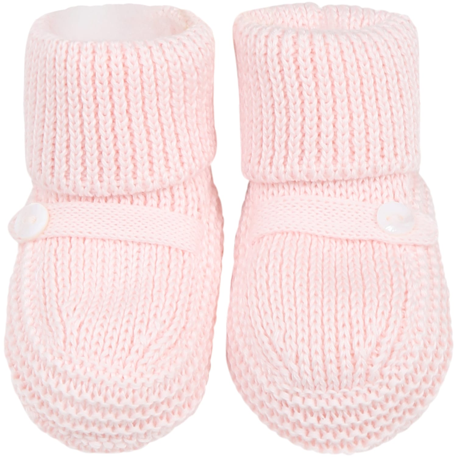 Pink Baby Bootee For Babygirl