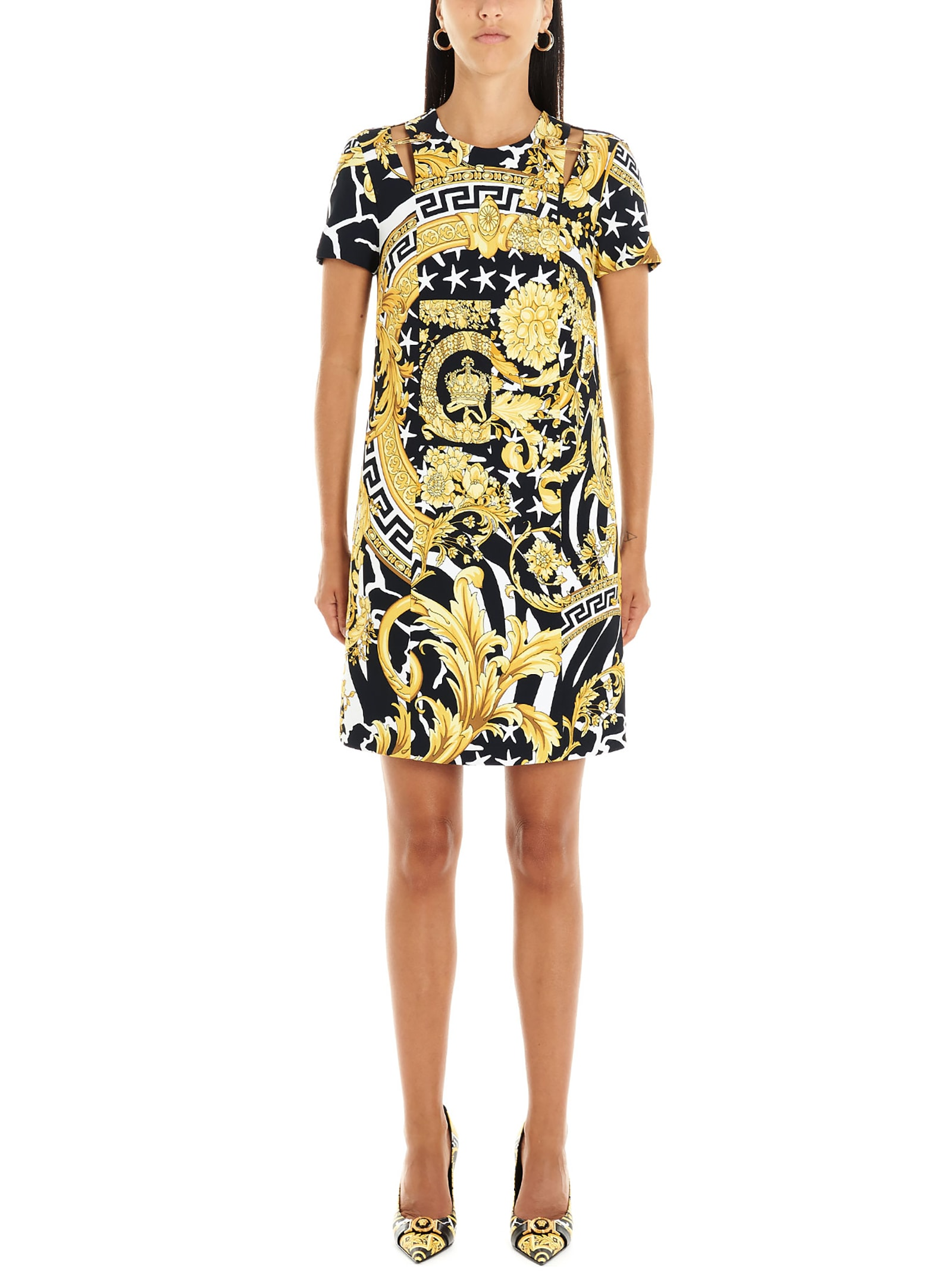 Versace wild Barocco Dress