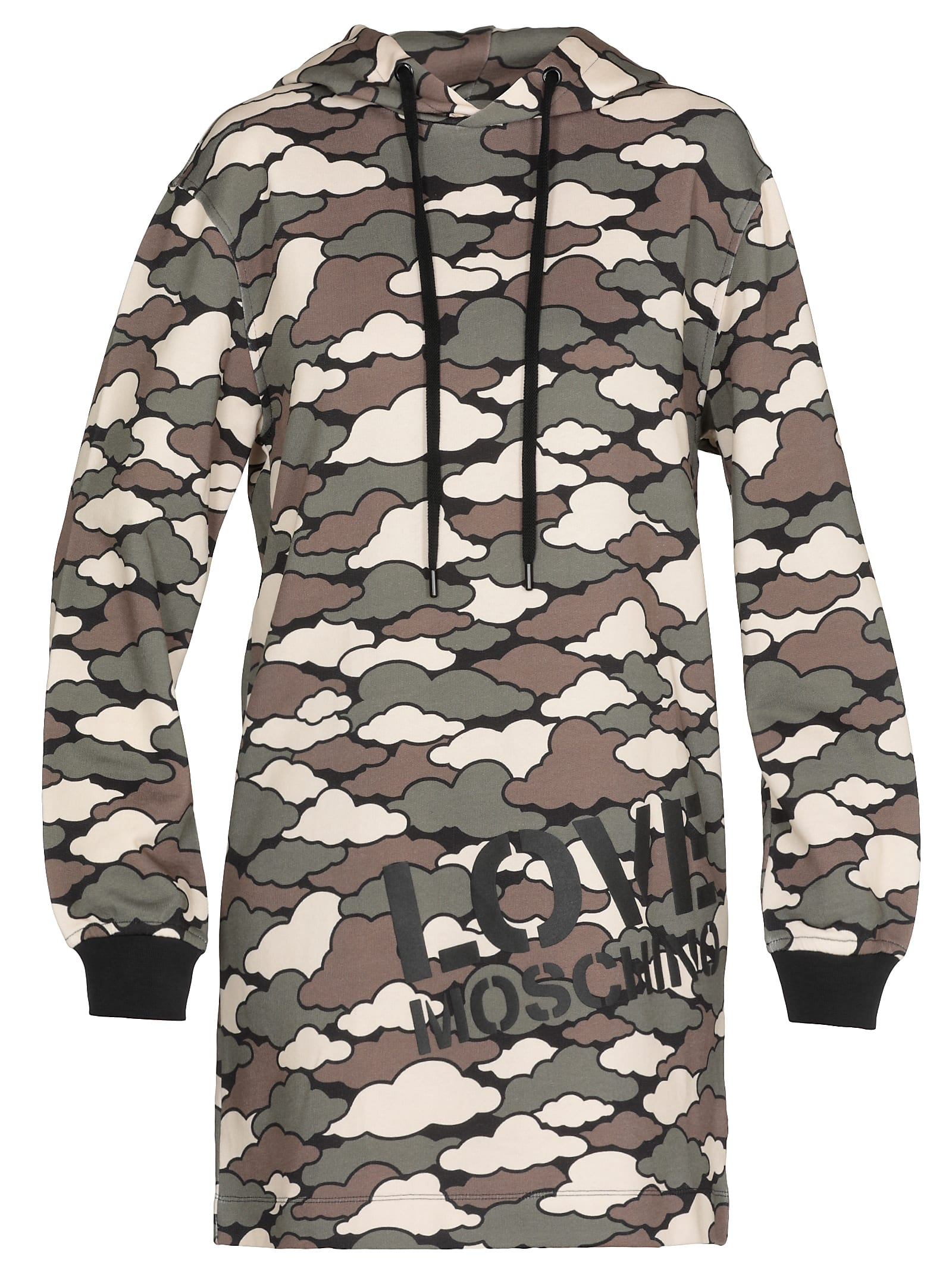 Love Moschino Camouflage Dress