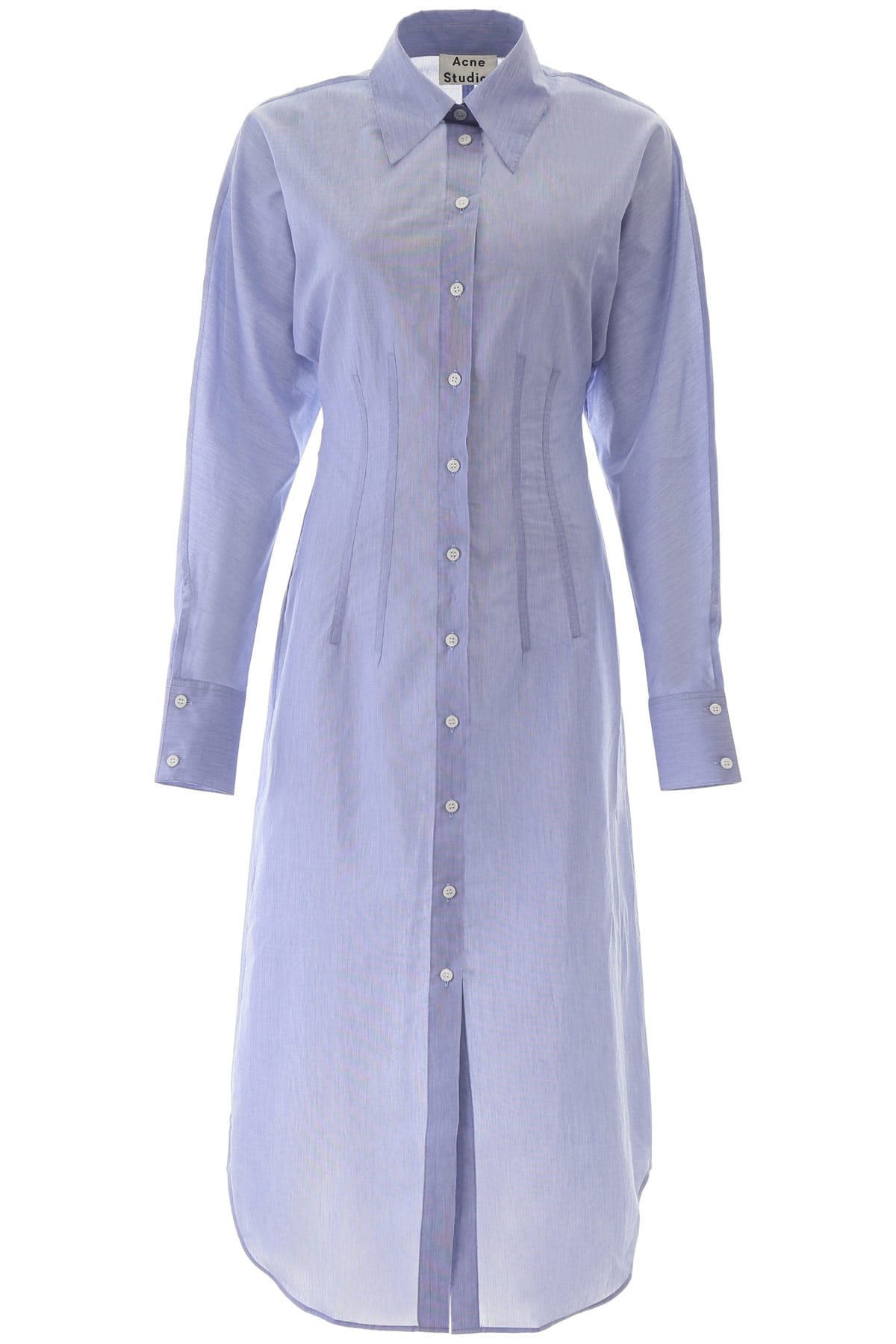 Buy Acne Studios Midi Shirt Dress online, shop Acne Studios with free shipping