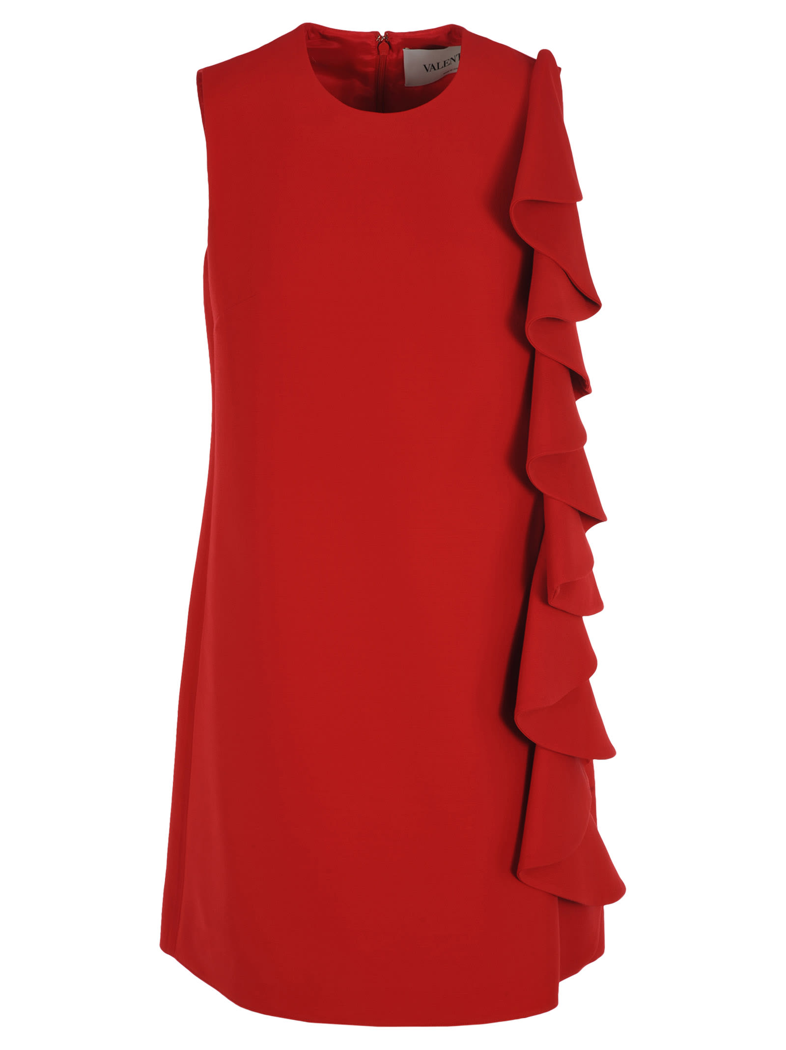 Buy Valentino Ruffled Dress online, shop Valentino with free shipping
