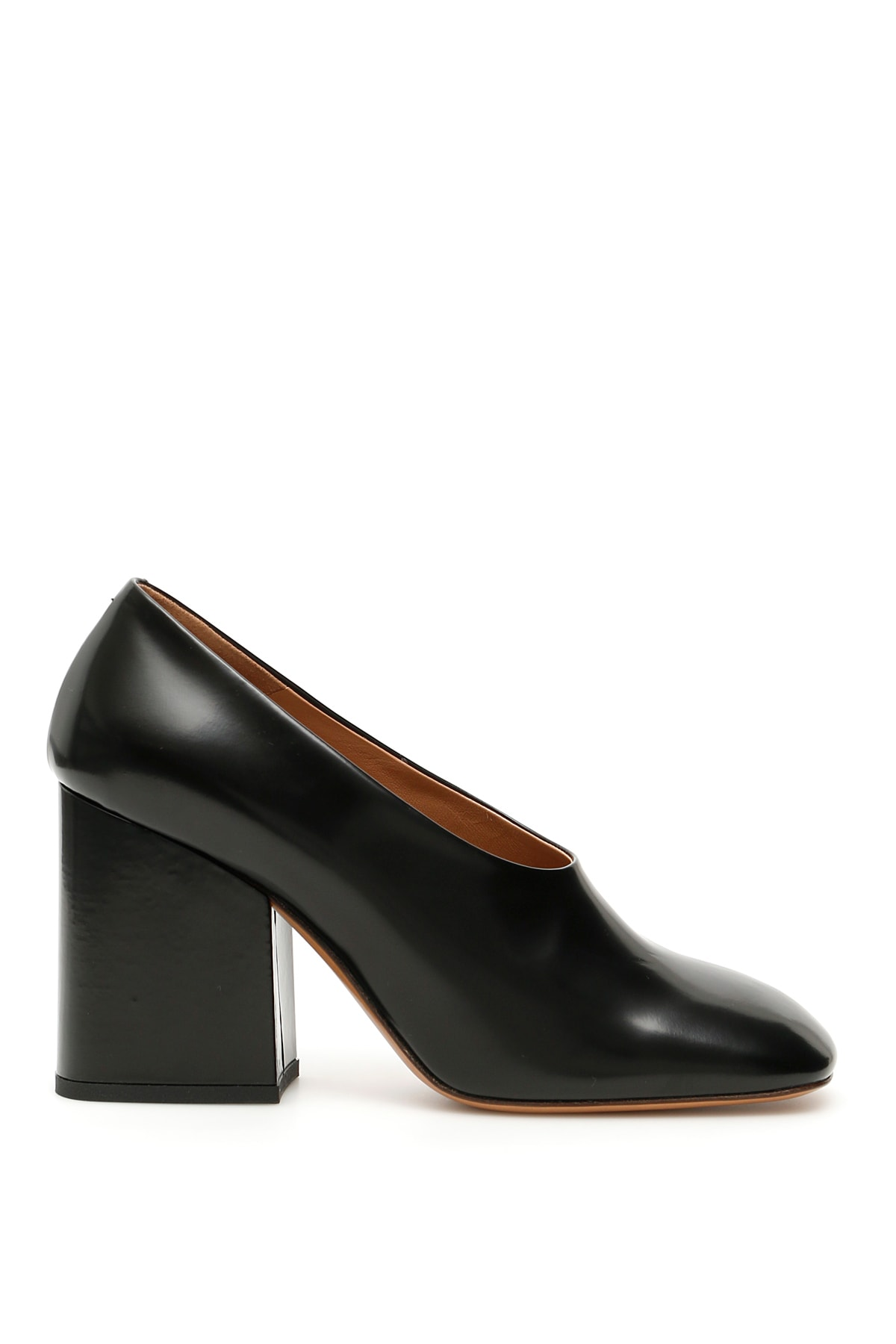 Marni Brushed Calfskin Pumps