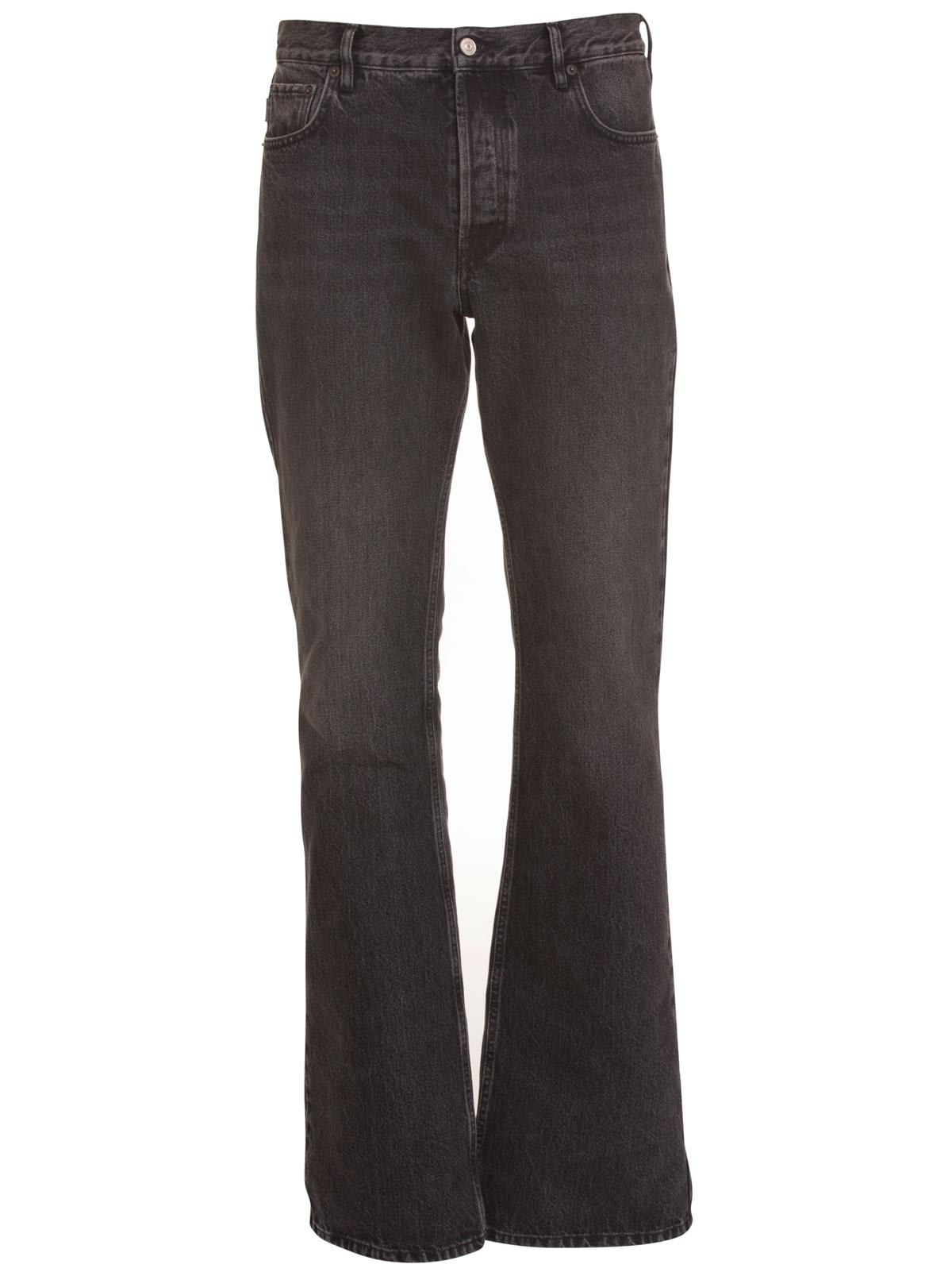 purchase cheap 3bcf6 ca222 Best price on the market at italist | Balenciaga Balenciaga Jeans Bootcut  In Black