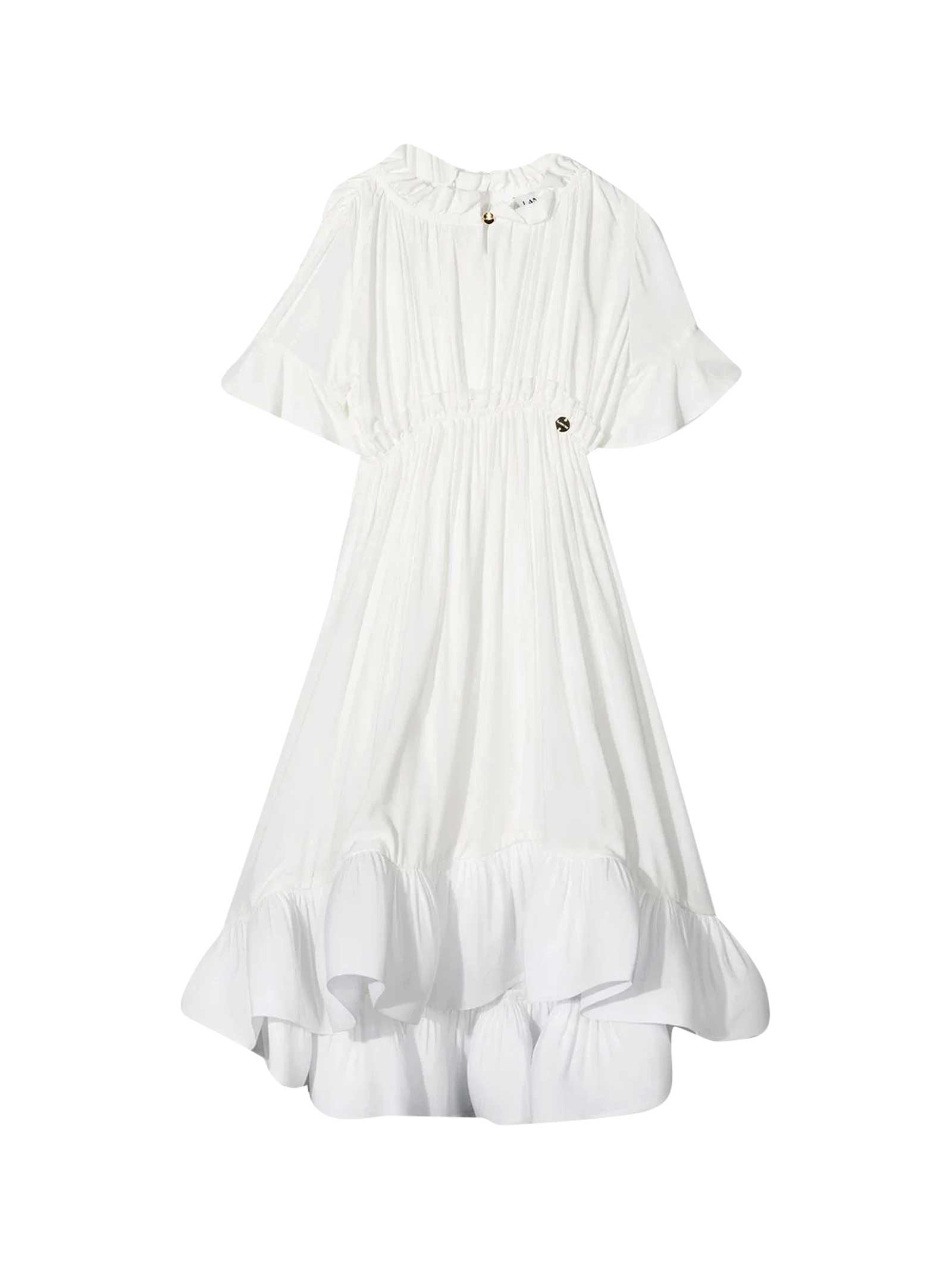 Buy Lanvin Ruffled Dress online, shop Lanvin with free shipping