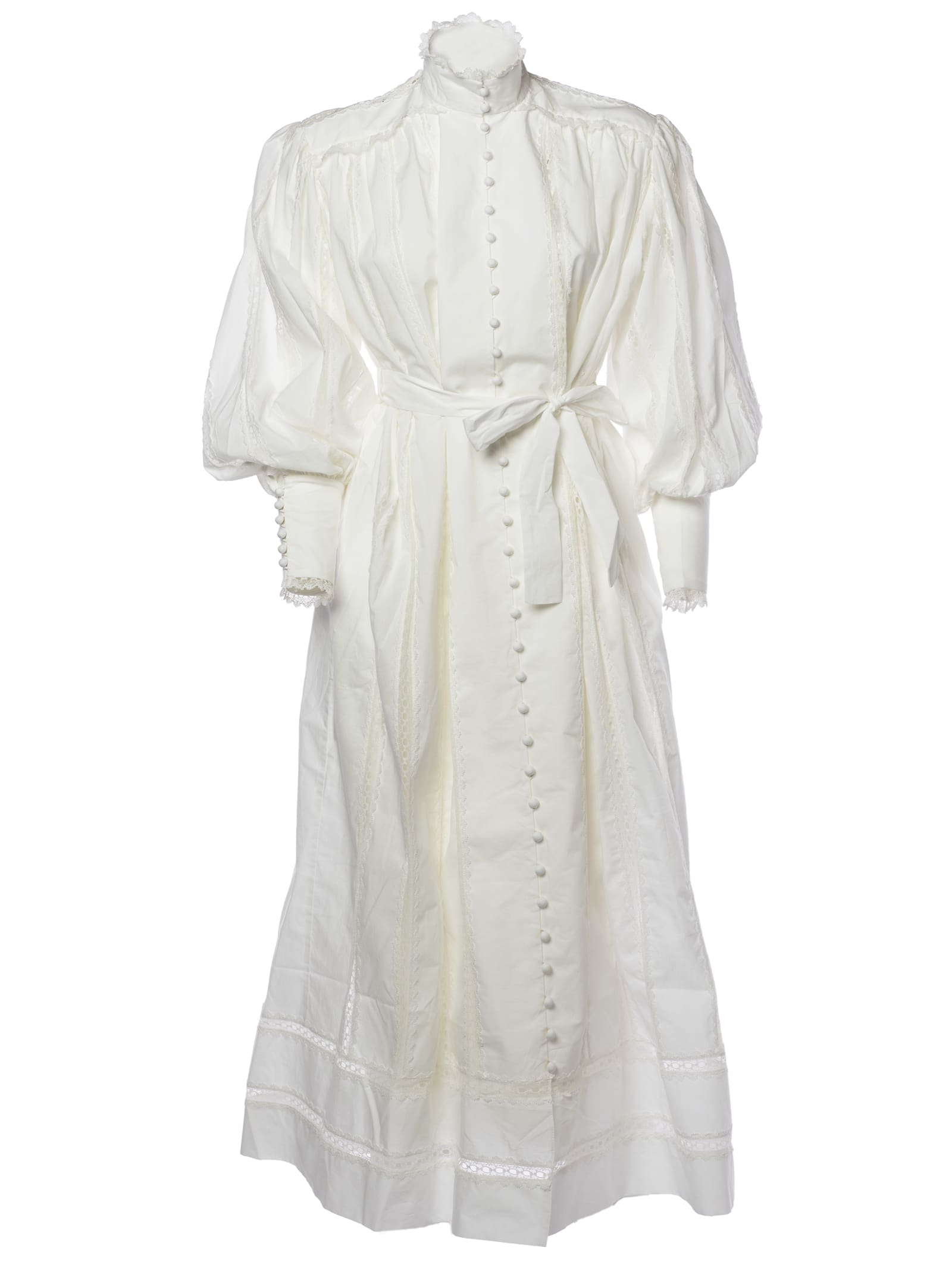 Zimmermann Lace Smock Dress