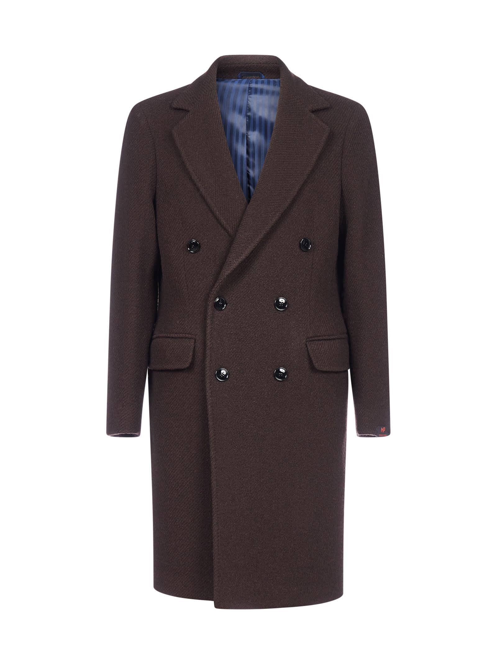 Roger Double-breasted Virgin Wool Coat