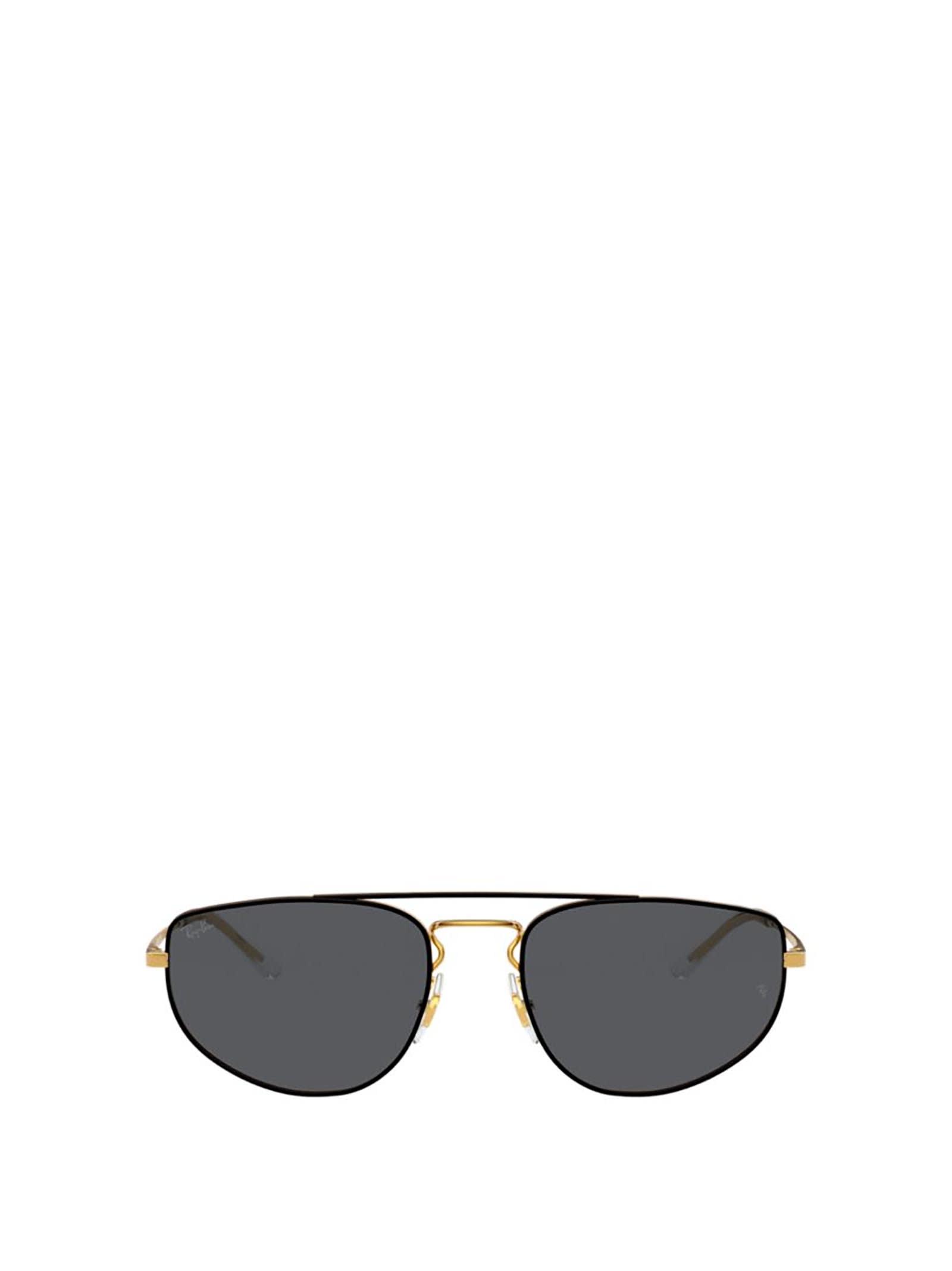 Ray-Ban Ray-ban Rb3669 Black On Arista Sunglasses