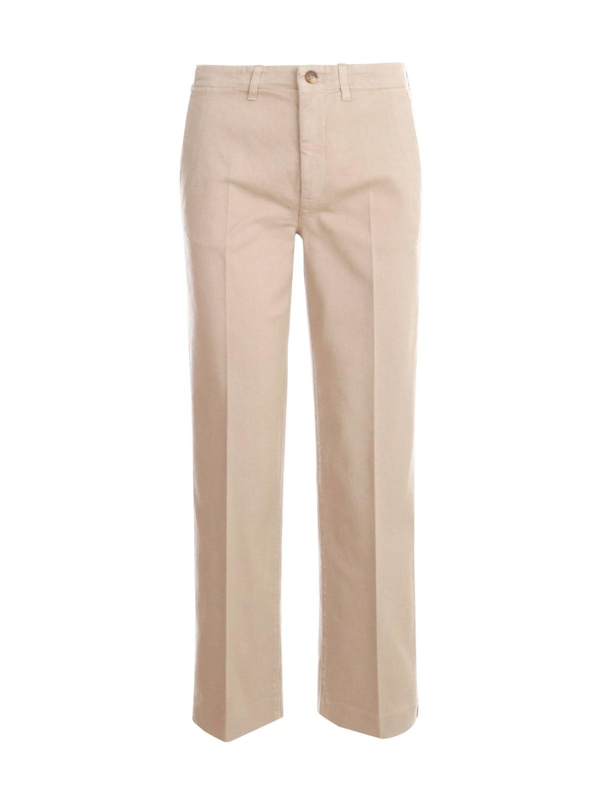 Parigi Straight Pants W/slits