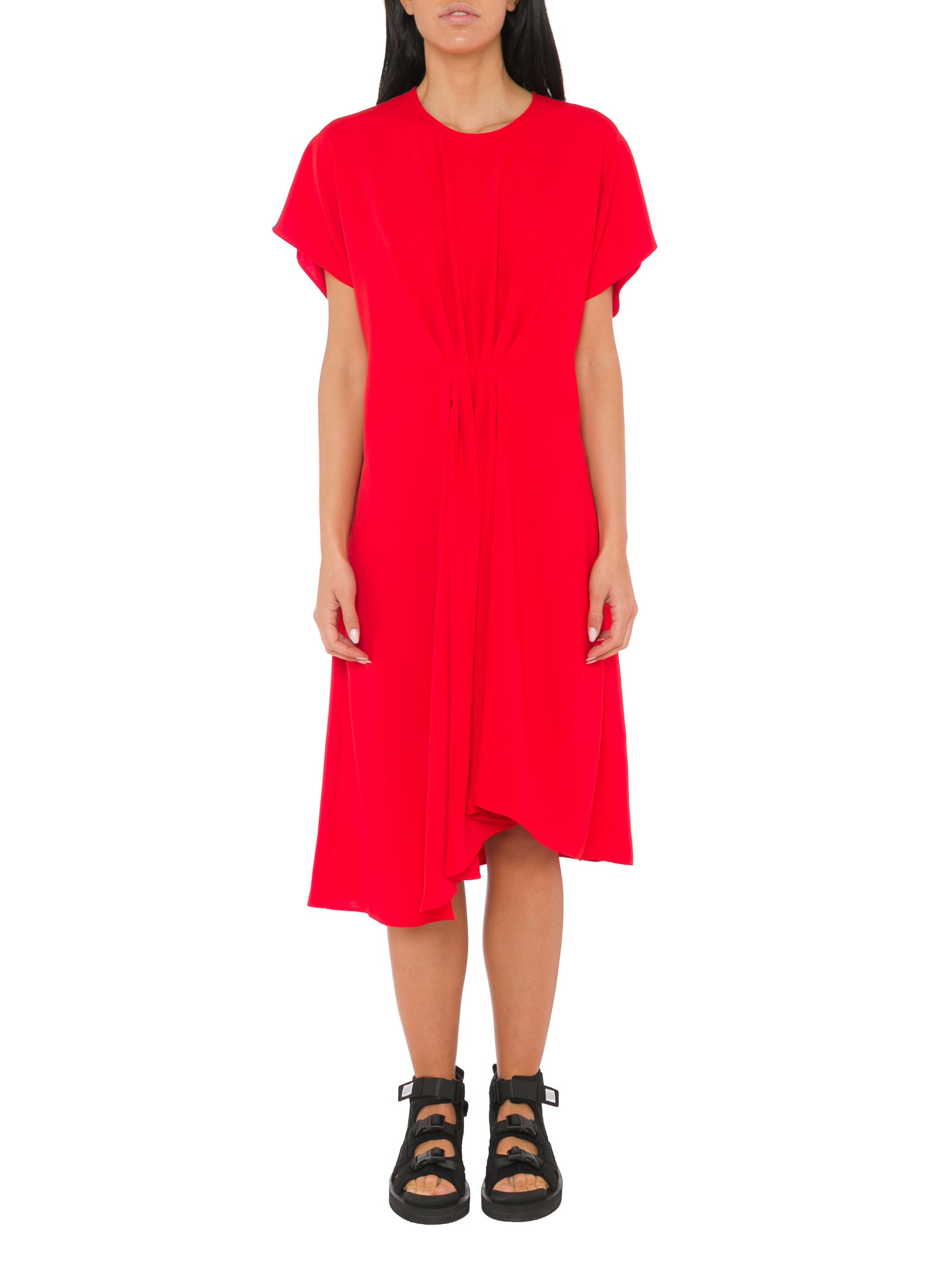 Kenzo Draped Dress