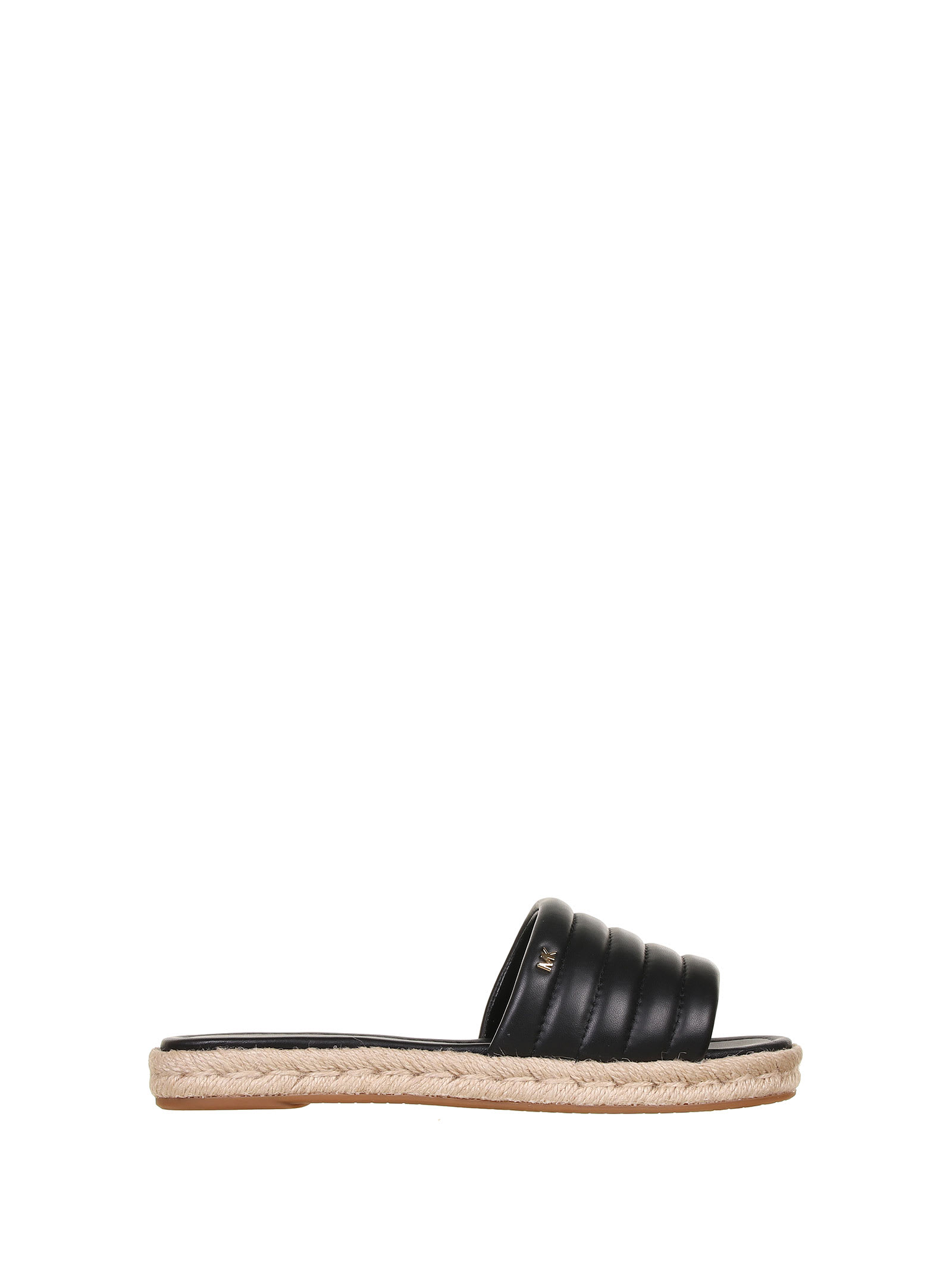 Buy Michael Kors Royce Black Sandals online, shop Michael Kors shoes with free shipping