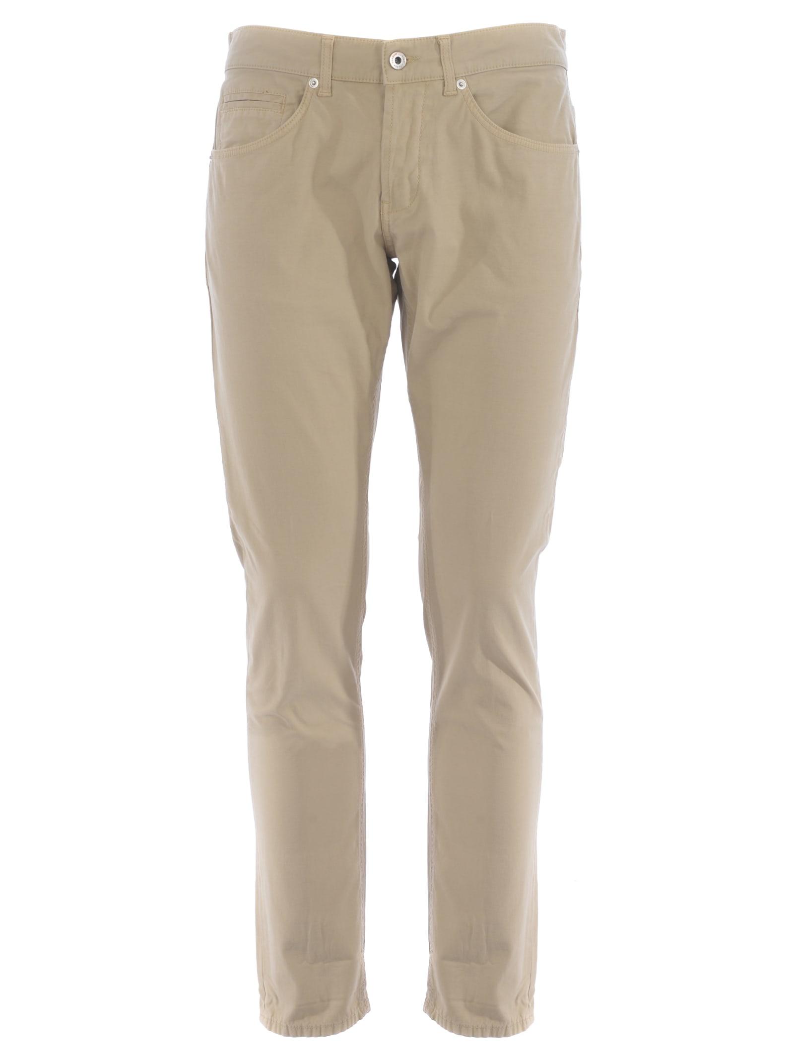 Dondup Pants In Beige