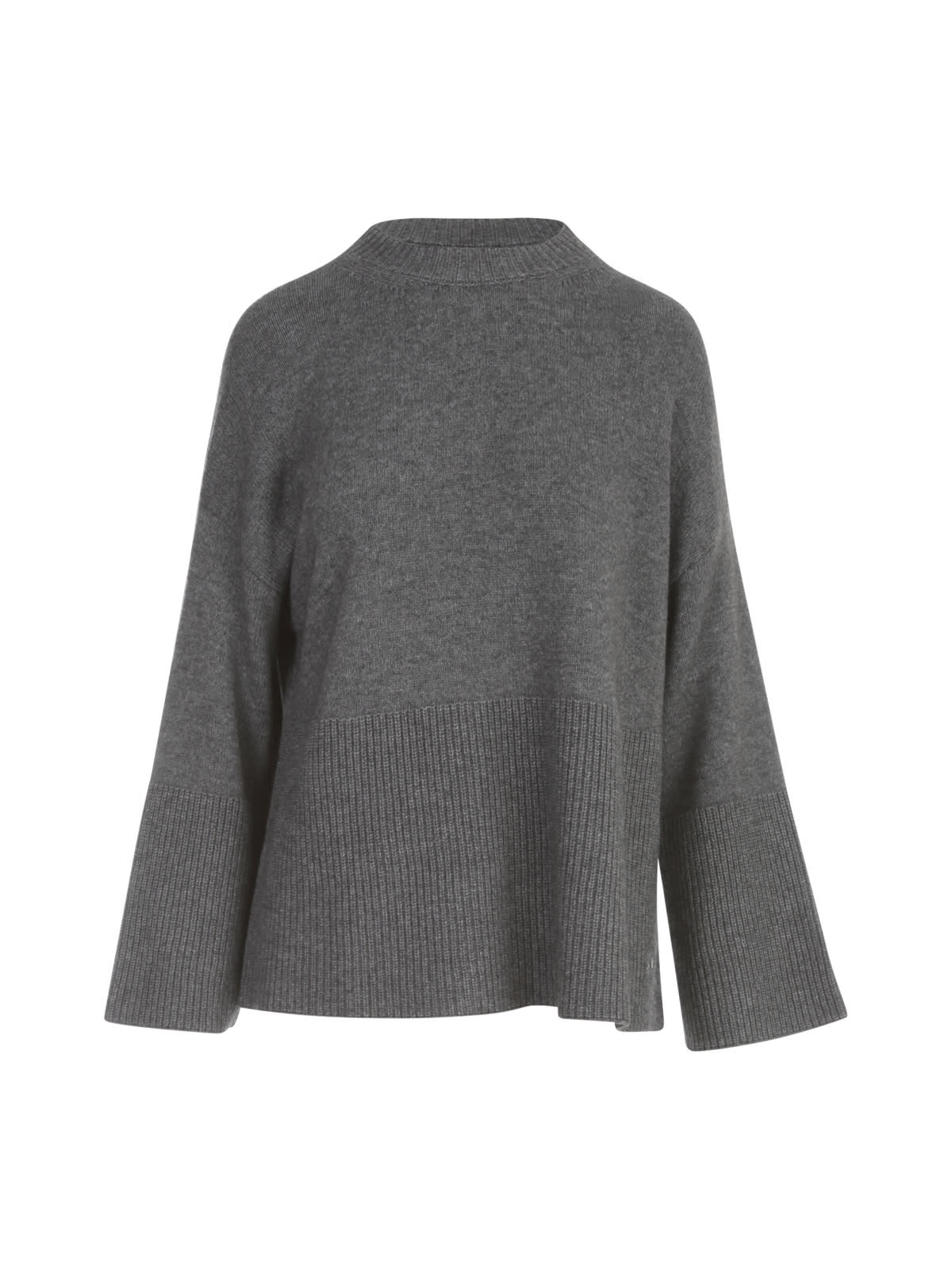 Ribbed Side Sweater