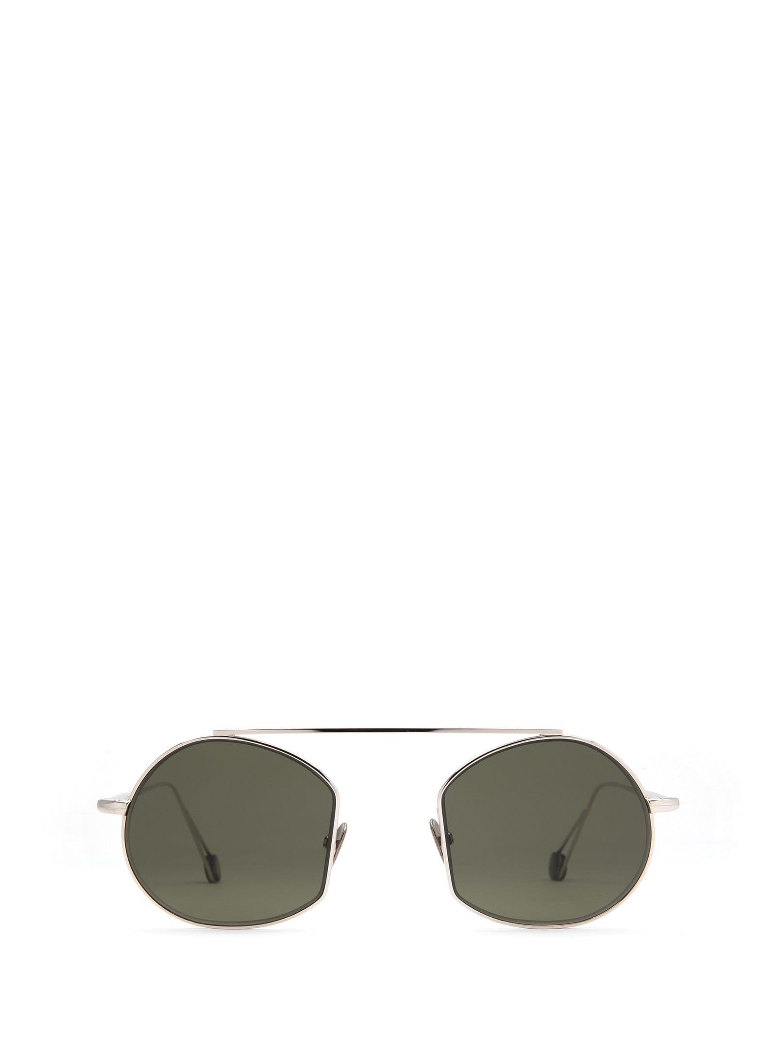 AHLEM Ahlem Place Des Victoires White Gold Sunglasses