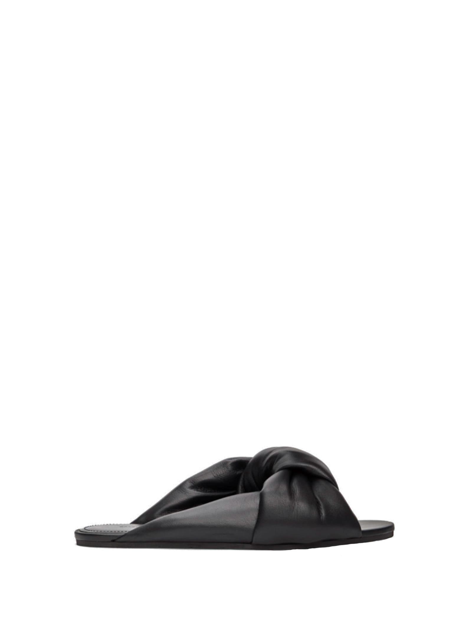 Balenciaga Balenciaga Drapy Flat Sandals