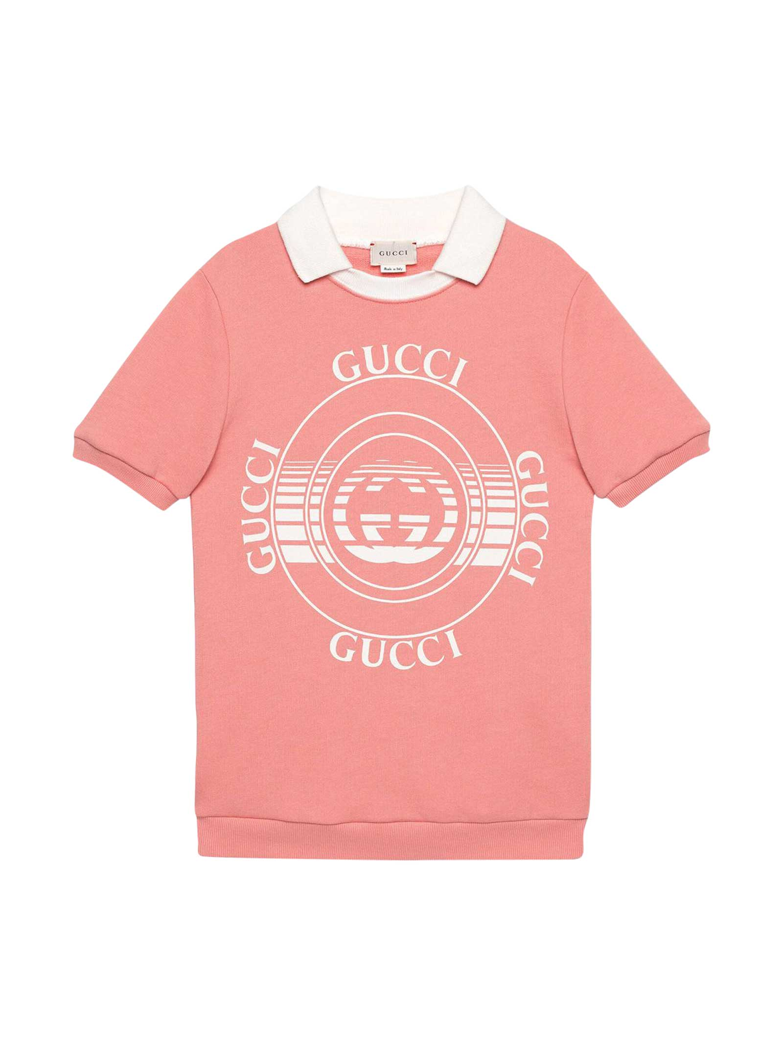 Buy Gucci Salmon Dress online, shop Gucci with free shipping