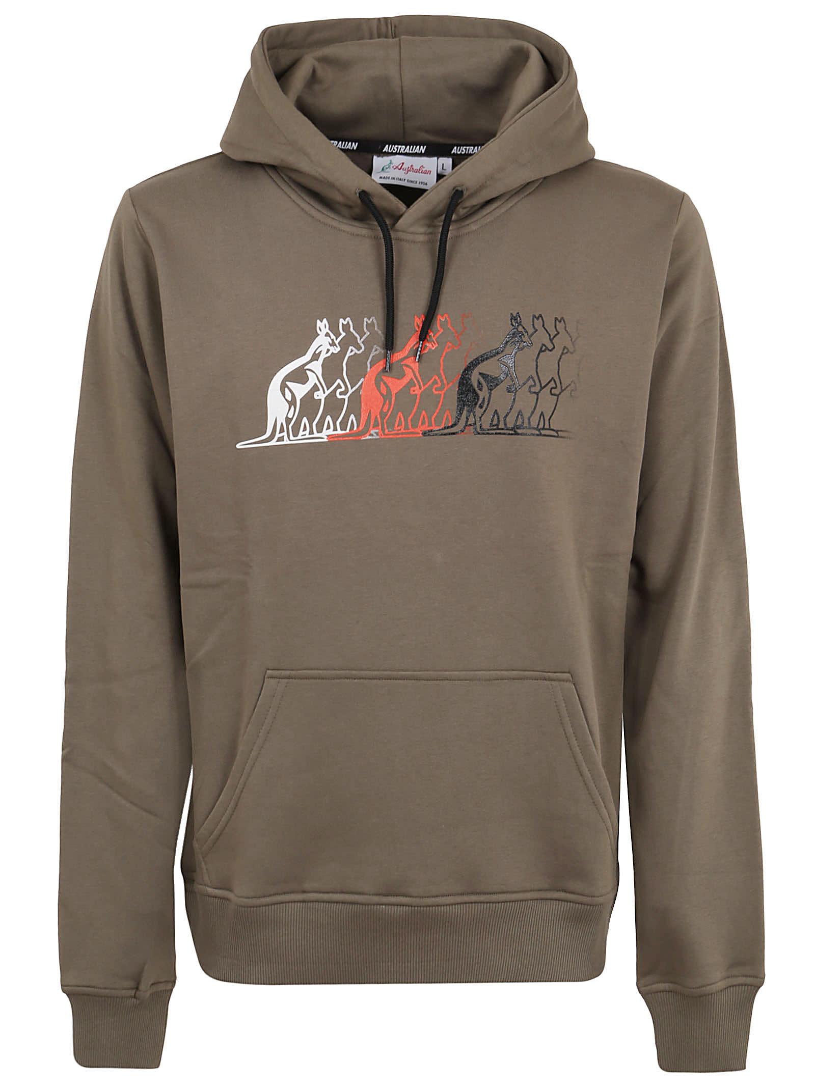 Winter Sweatshirt With Front Print