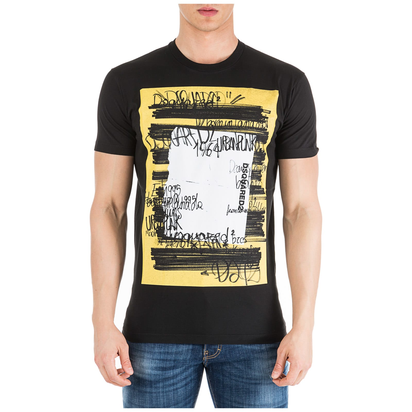 Dsquared2 Nasa T-Shirt In Nero