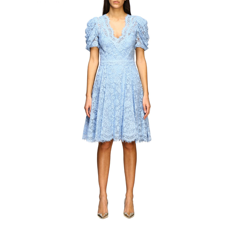 Buy Ermanno Scervino Dress Ermanno Scervino Lace Dress online, shop Ermanno Scervino with free shipping