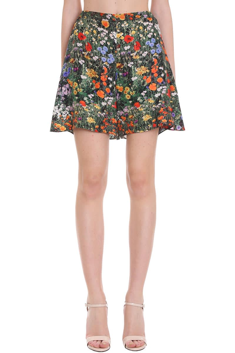 Stella McCartney Alisa Shorts In Multicolor Silk
