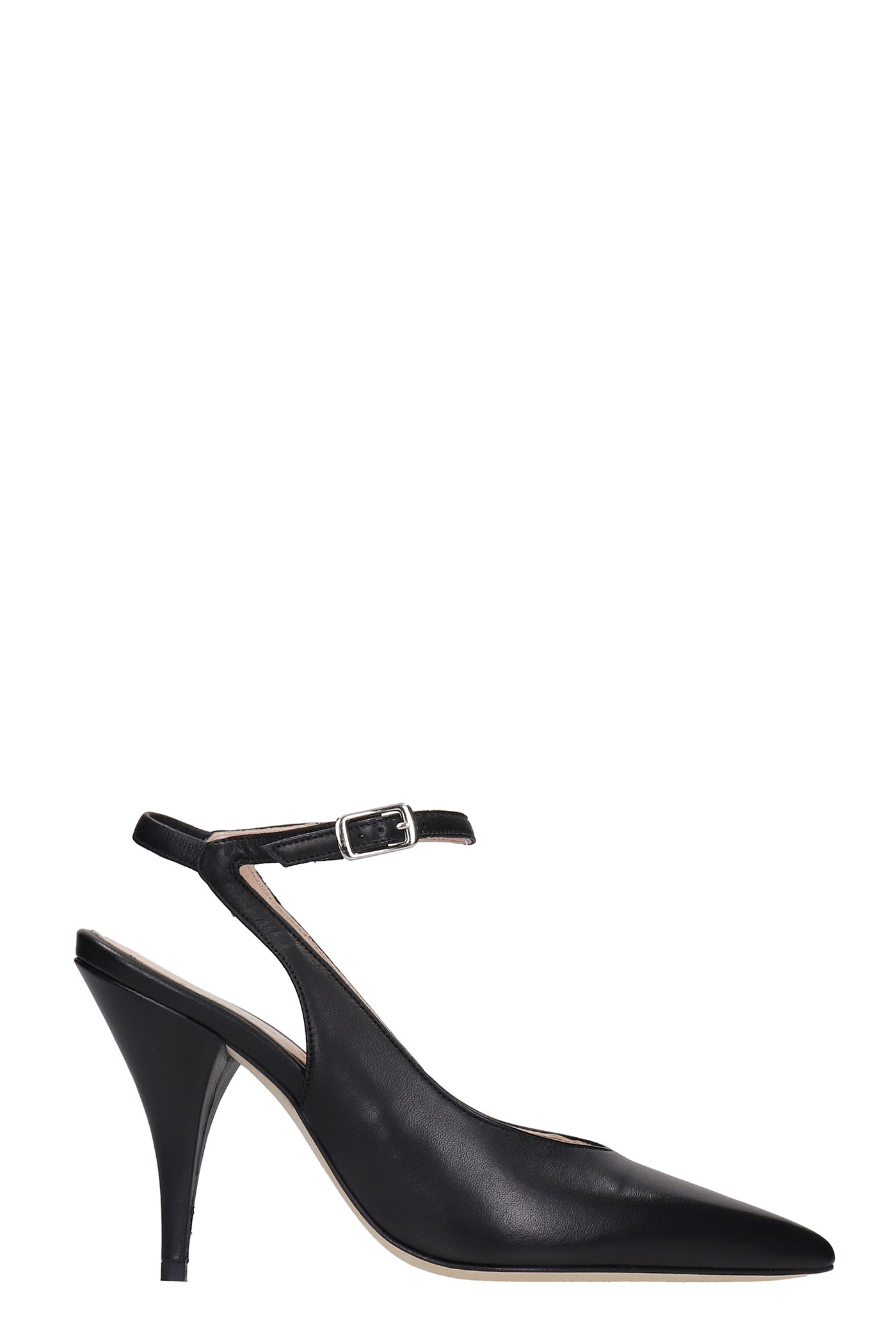 Pumps In Black Leather