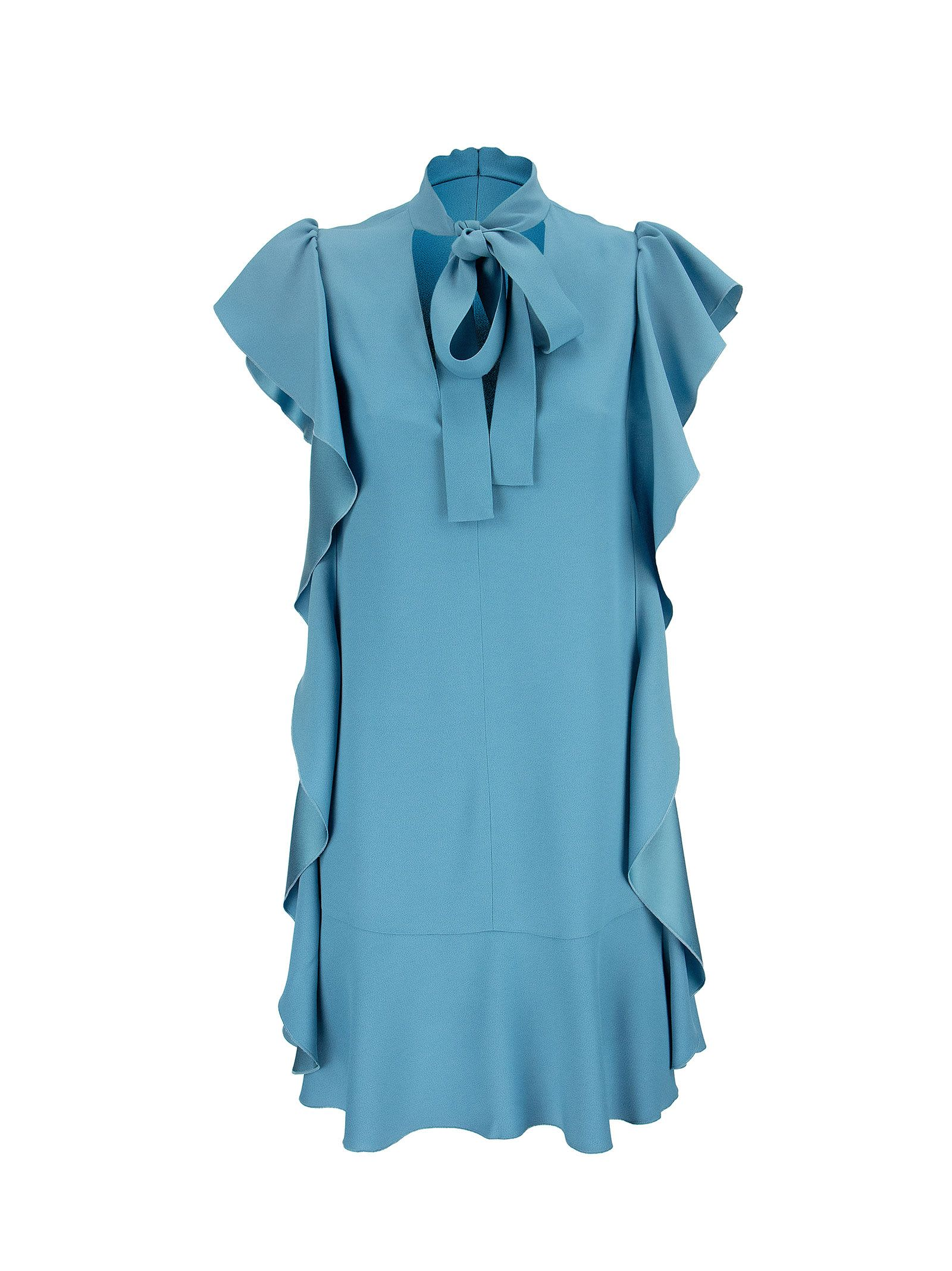 Buy Dress In Crepe Envers Satin online, shop RED Valentino with free shipping