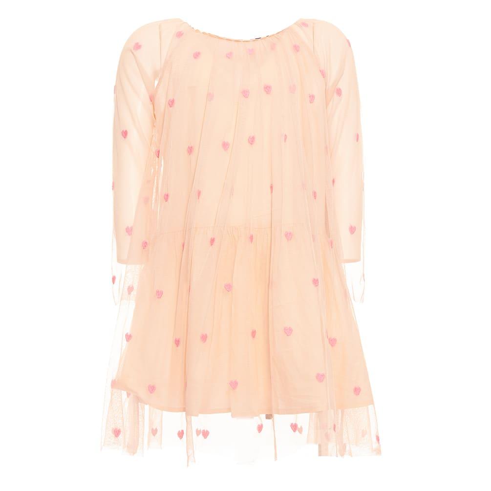 Buy Stella McCartney Little Hearts Tulle Dress online, shop Stella McCartney with free shipping