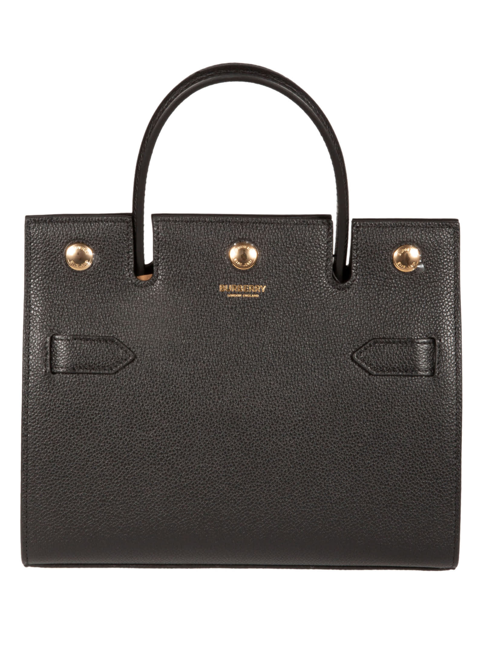 Burberry Snap-lock Tote