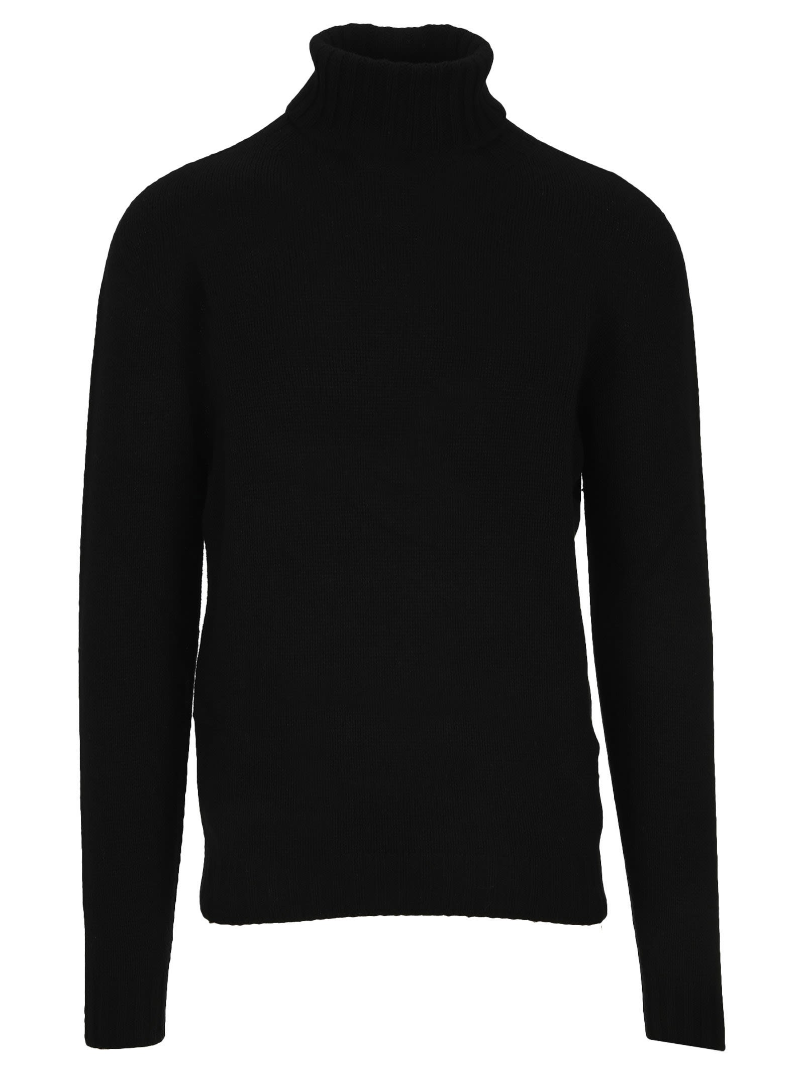 PALM ANGELS TURTLENECK LOGO JUMPER