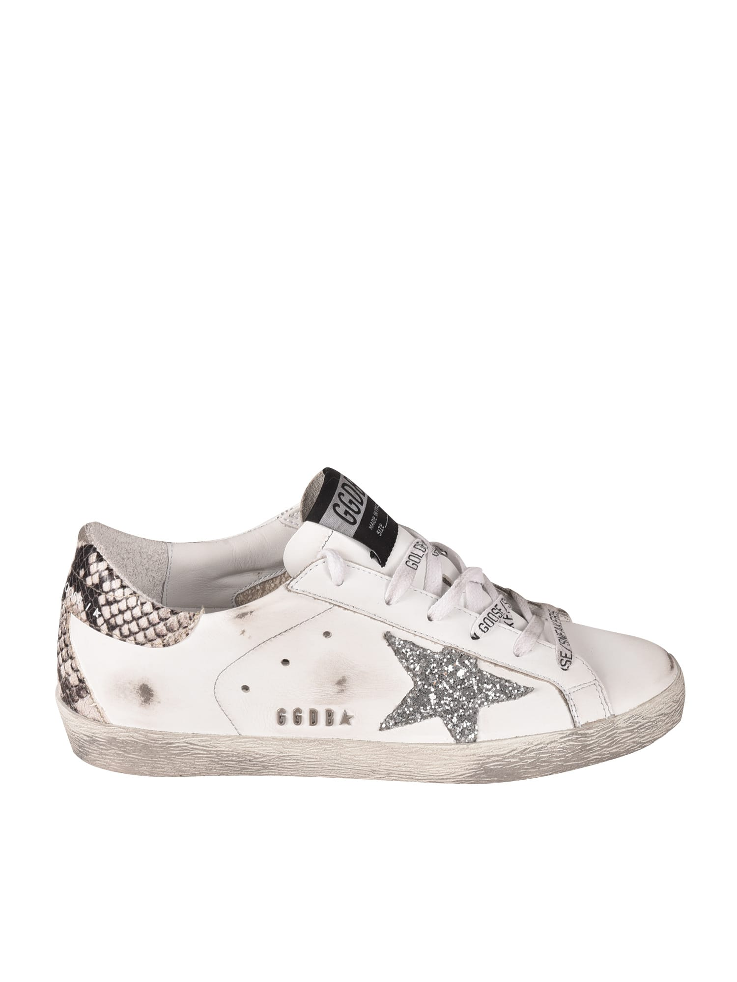 Buy Golden Goose Classic Super-star Sneakers online, shop Golden Goose shoes with free shipping