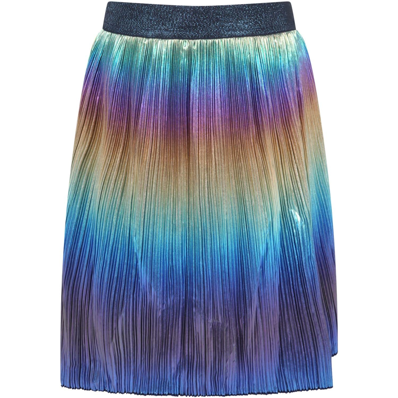 Multicolor Skirt For Girl