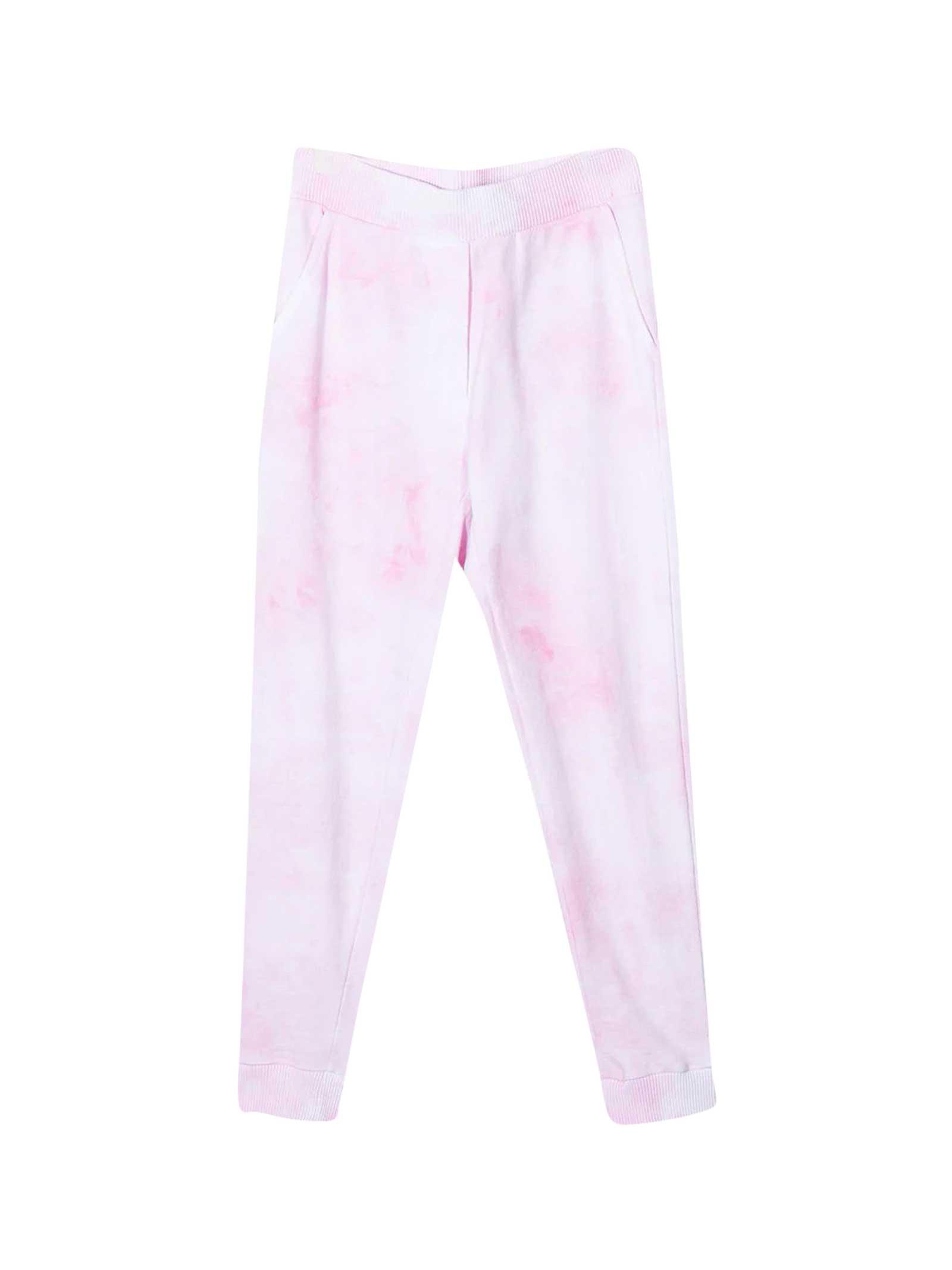 Pantaloni Sportivi Con Fantasia Tie Dye