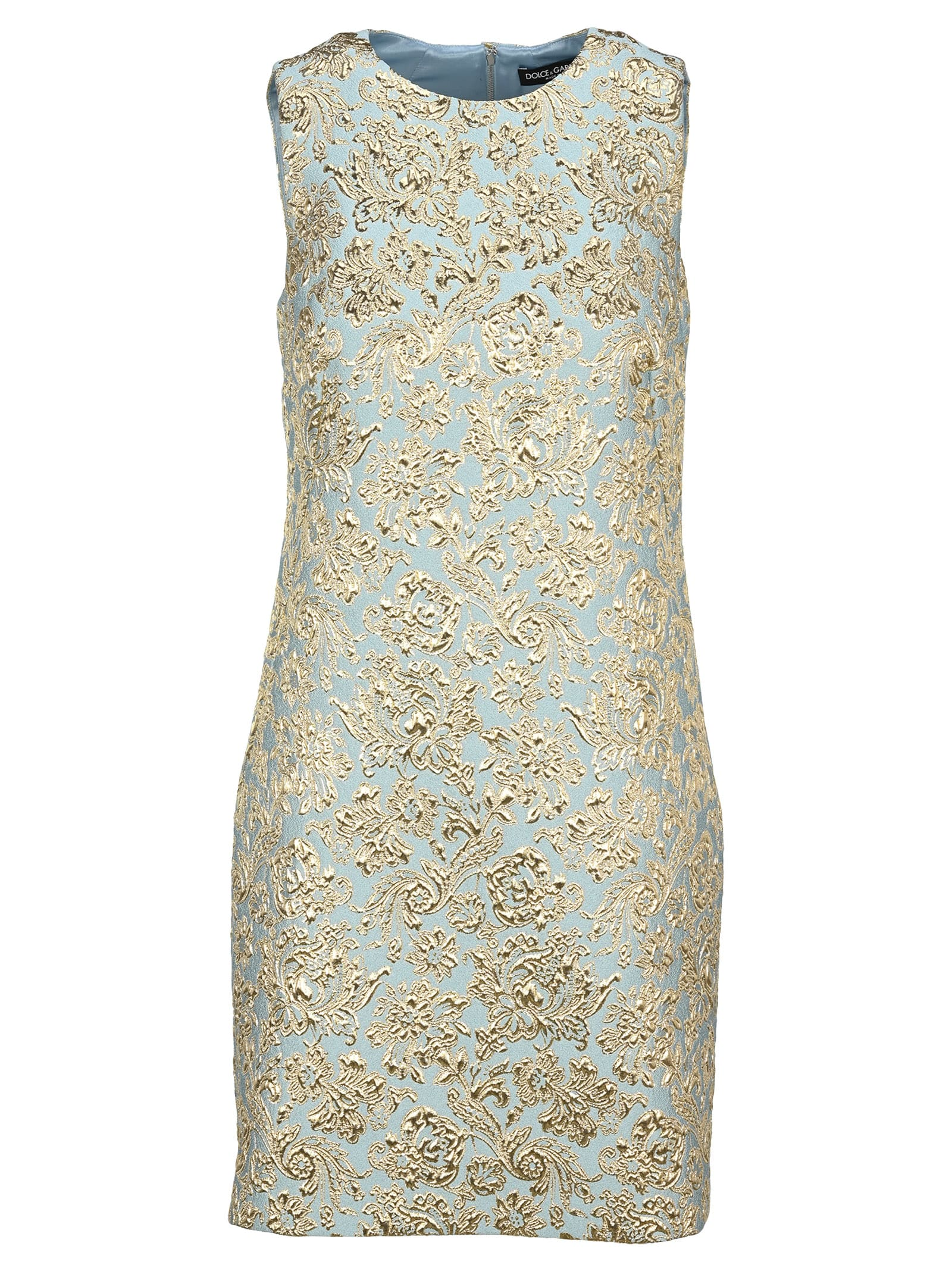 Buy Dolce & Gabbana Dolce & gabbana Short Lam·Jacquard Dress online, shop Dolce & Gabbana with free shipping
