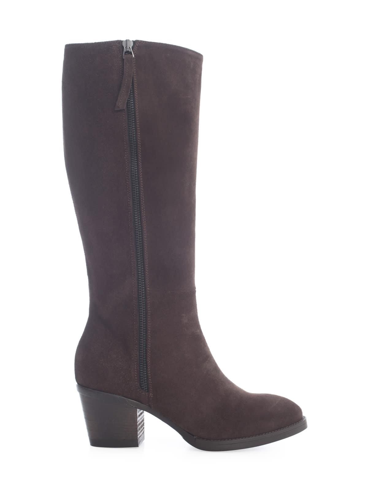 Parosh Ankle Boots W/side Zip