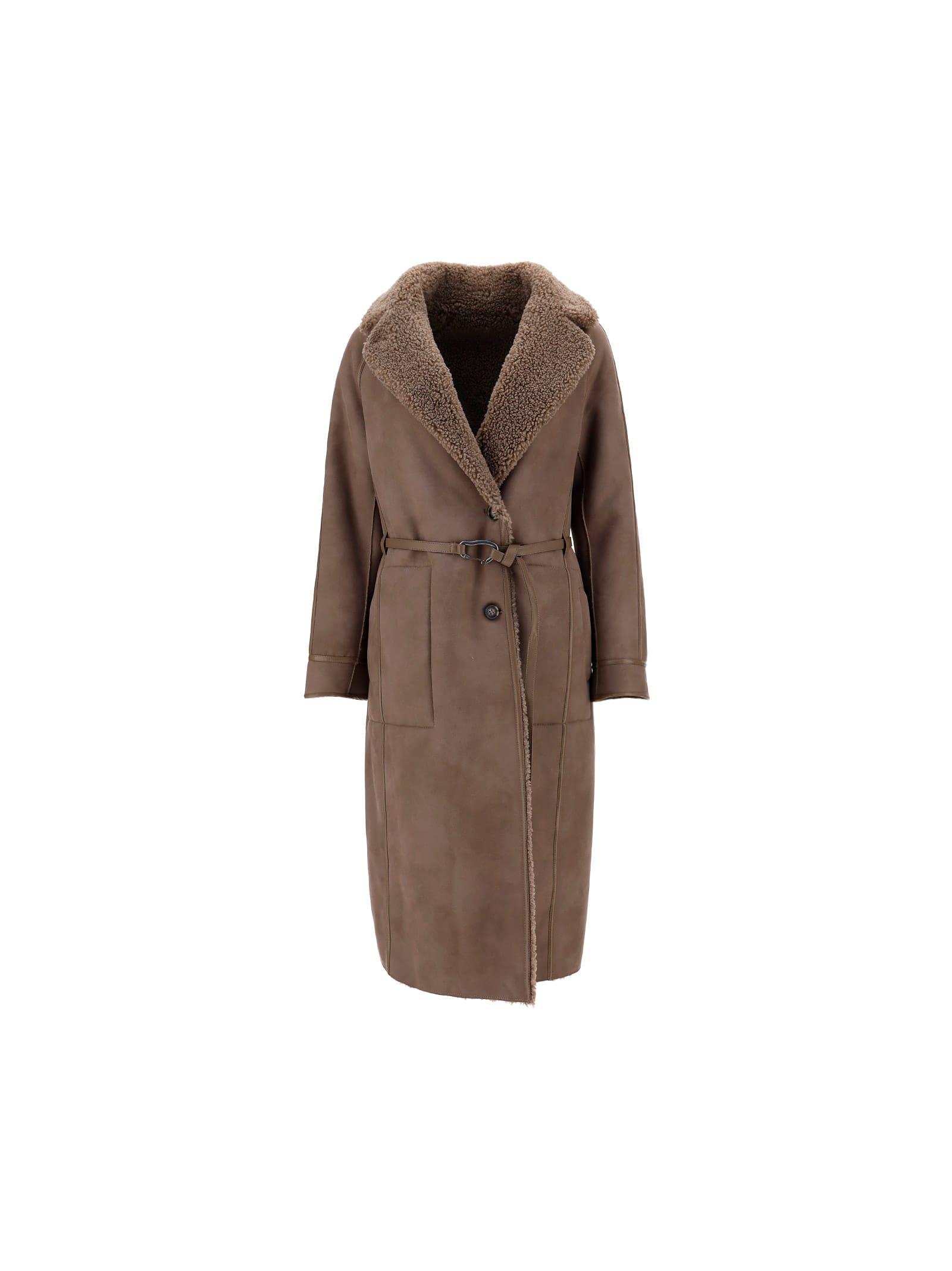 Urbancode Coat In Brown