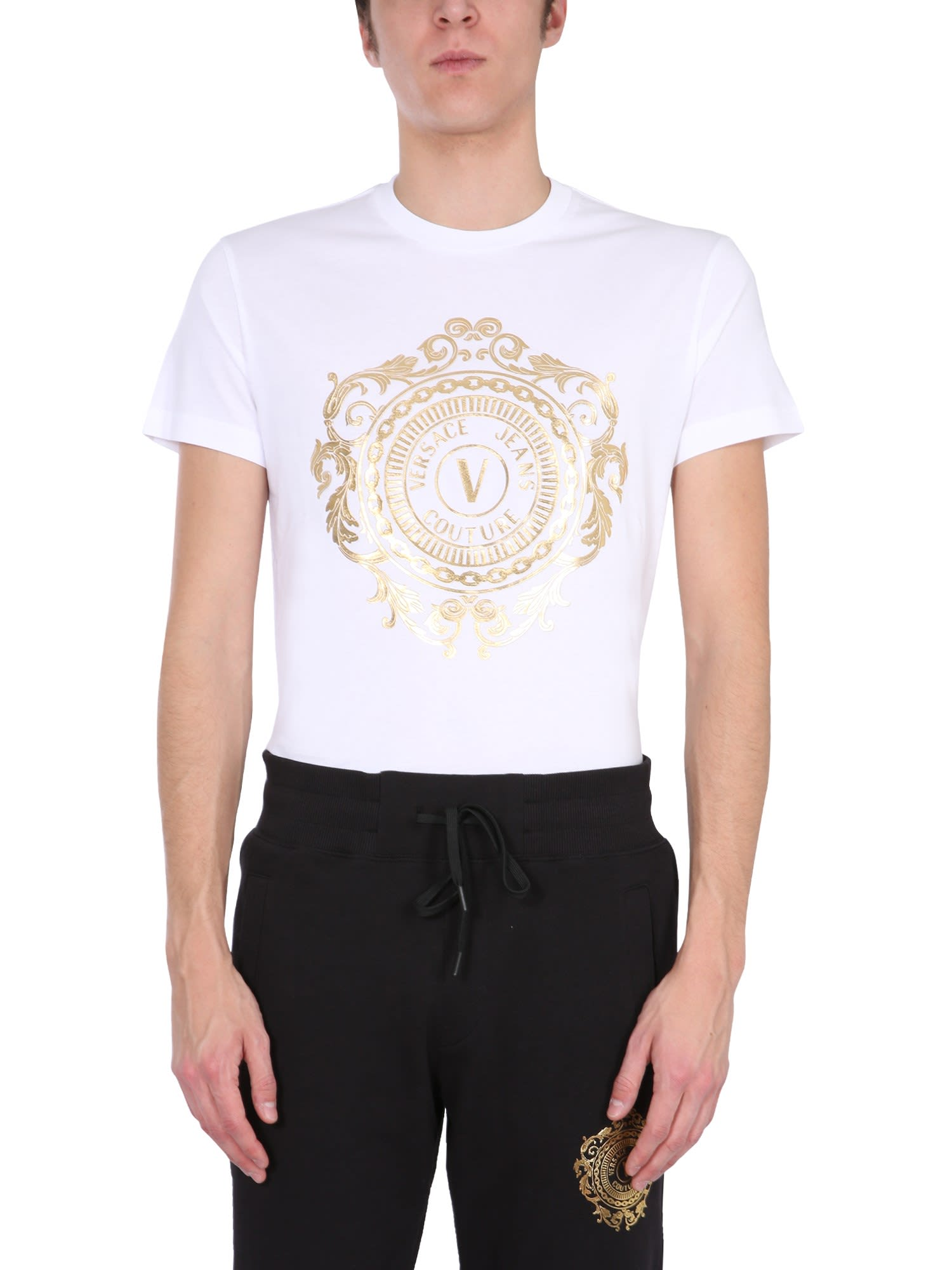 Versace Jeans Couture T-shirts CREW NECK T-SHIRT