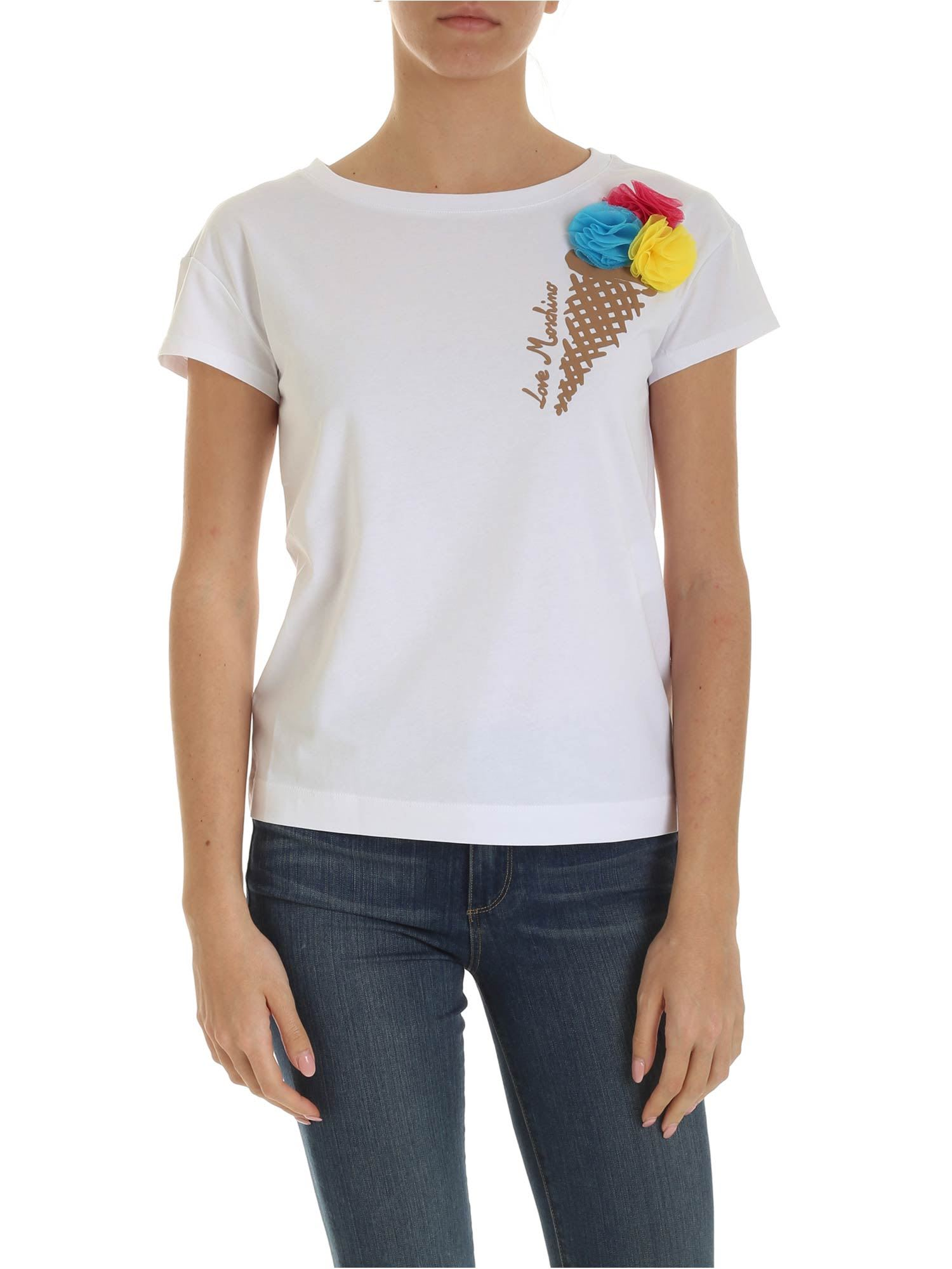 Love Moschino Ice Cream T-shirt