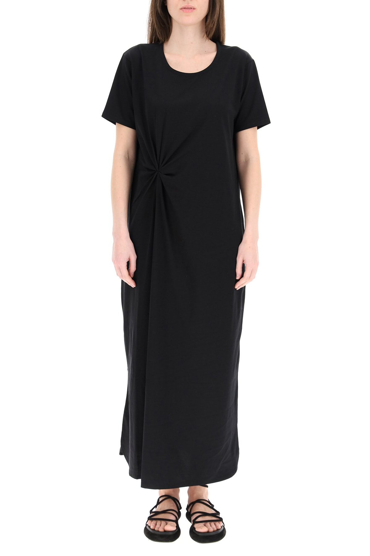 Buy Loulou Studio Amini Long Dress In Cotton Jersey online, shop Loulou Studio with free shipping