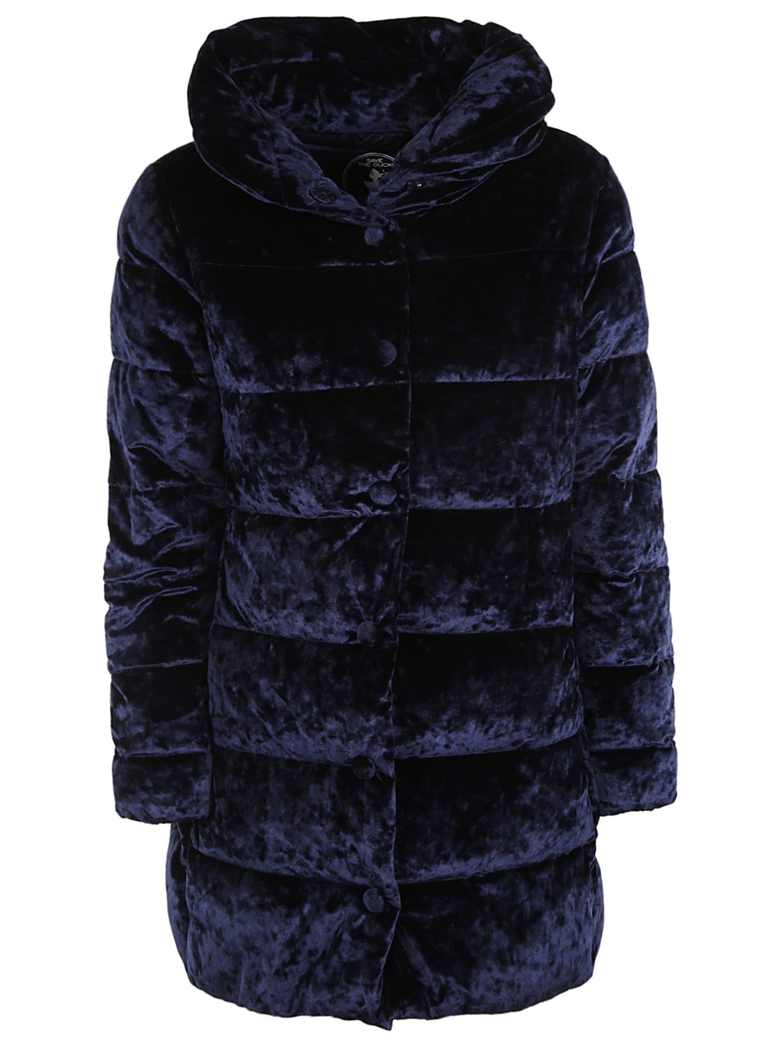 Save the Duck Furry Classic Hooded Padded Parka