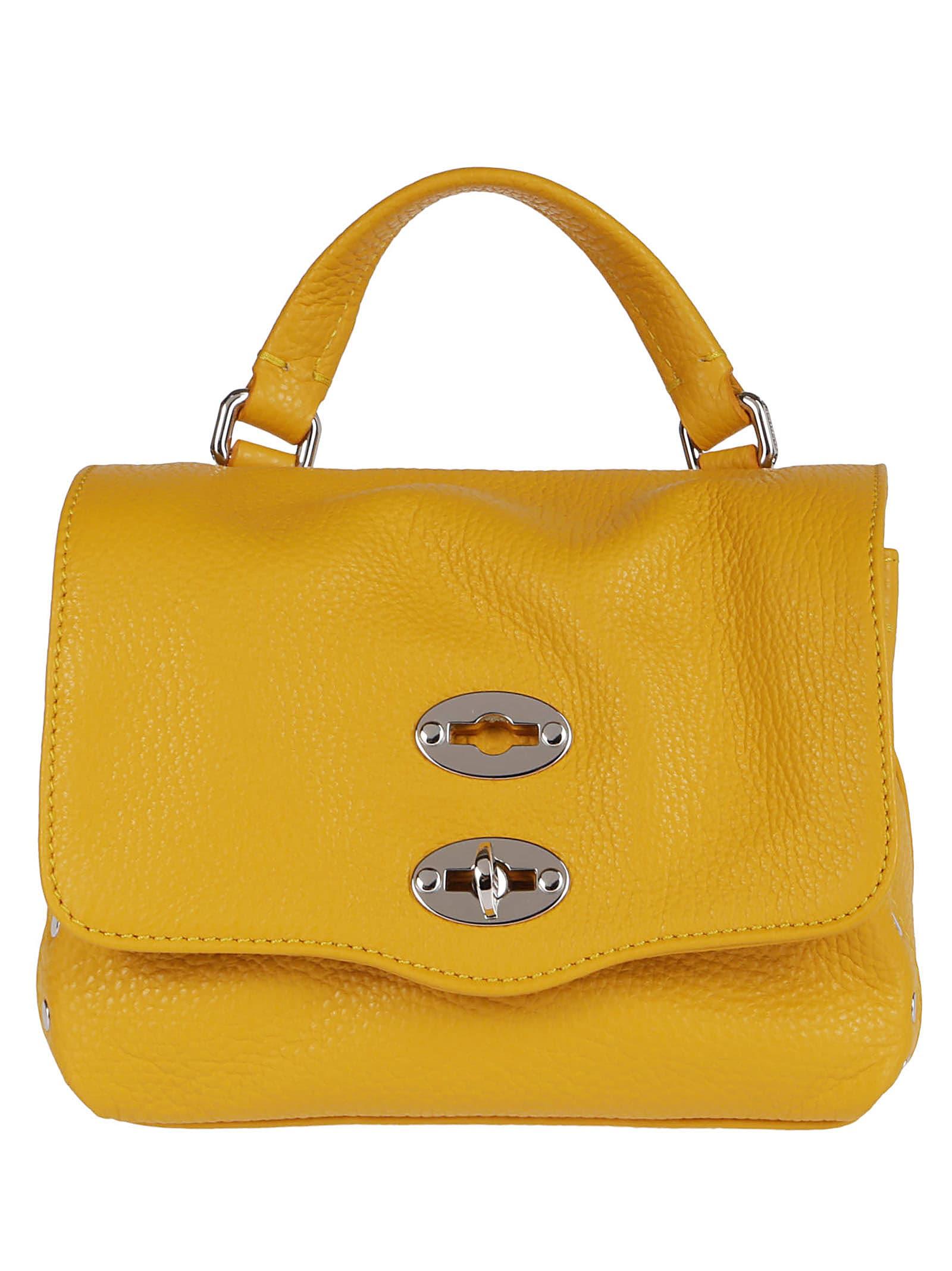 Zanellato Bags YELLOW LEATHER POSTINA BABY BAG