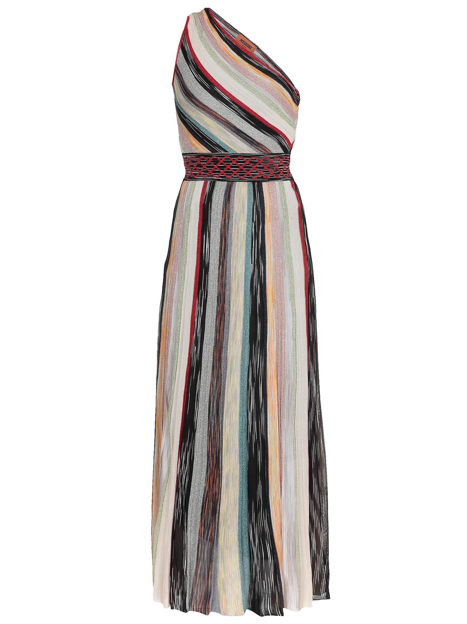 Missoni One-shoulder Strap Dress