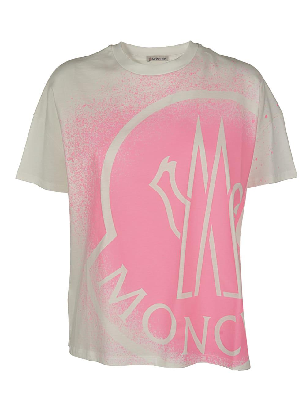 Moncler T-shirts T-SHIRT GIROCOLLO