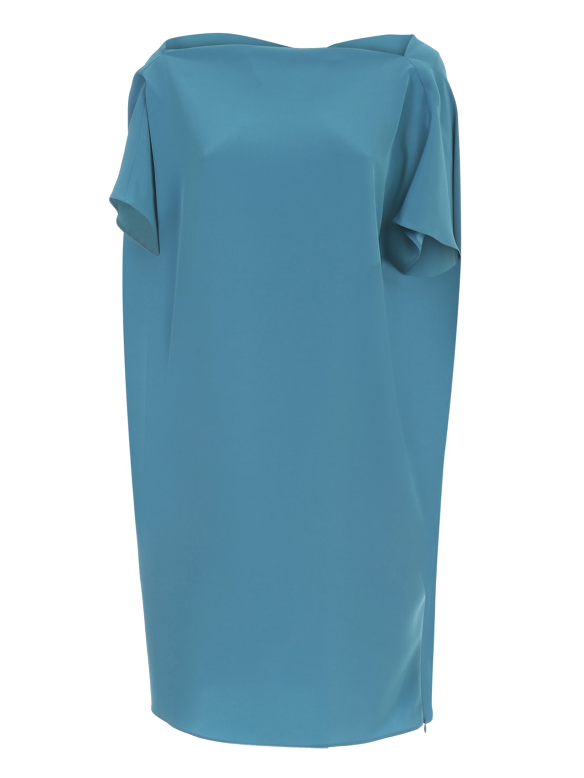 Buy Gianluca Capannolo Judy Relaxed Dress Boat Neck Blue online, shop Gianluca Capannolo with free shipping