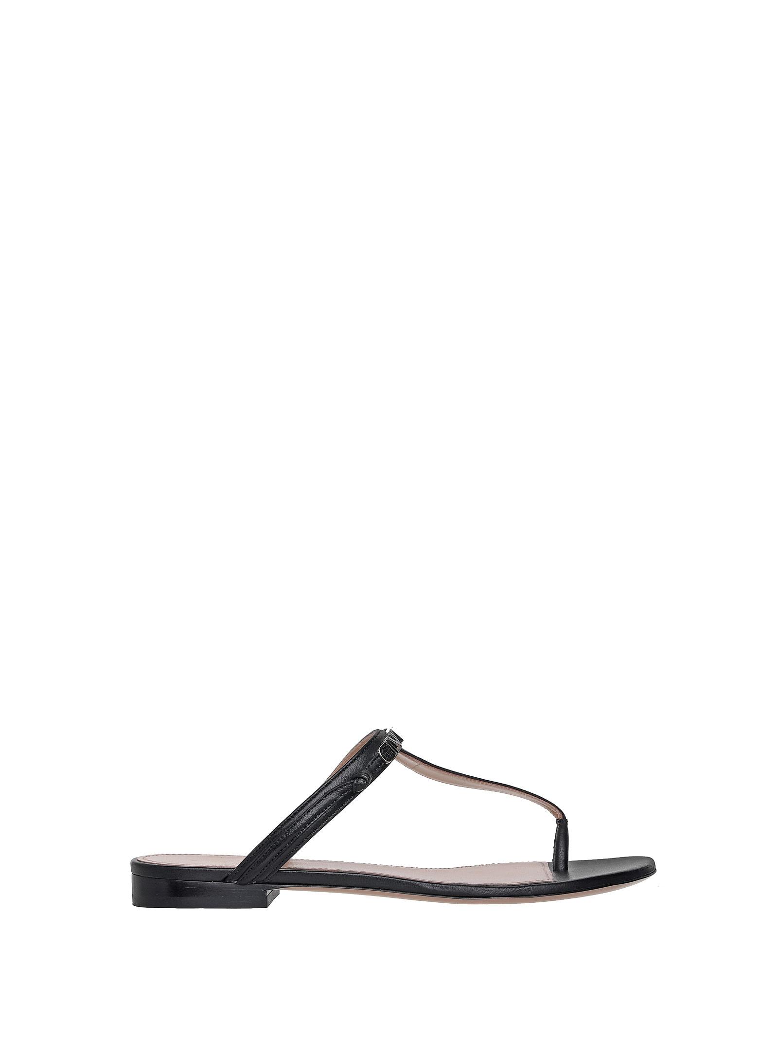 Givenchy Givenchy Logo-strap Sandals