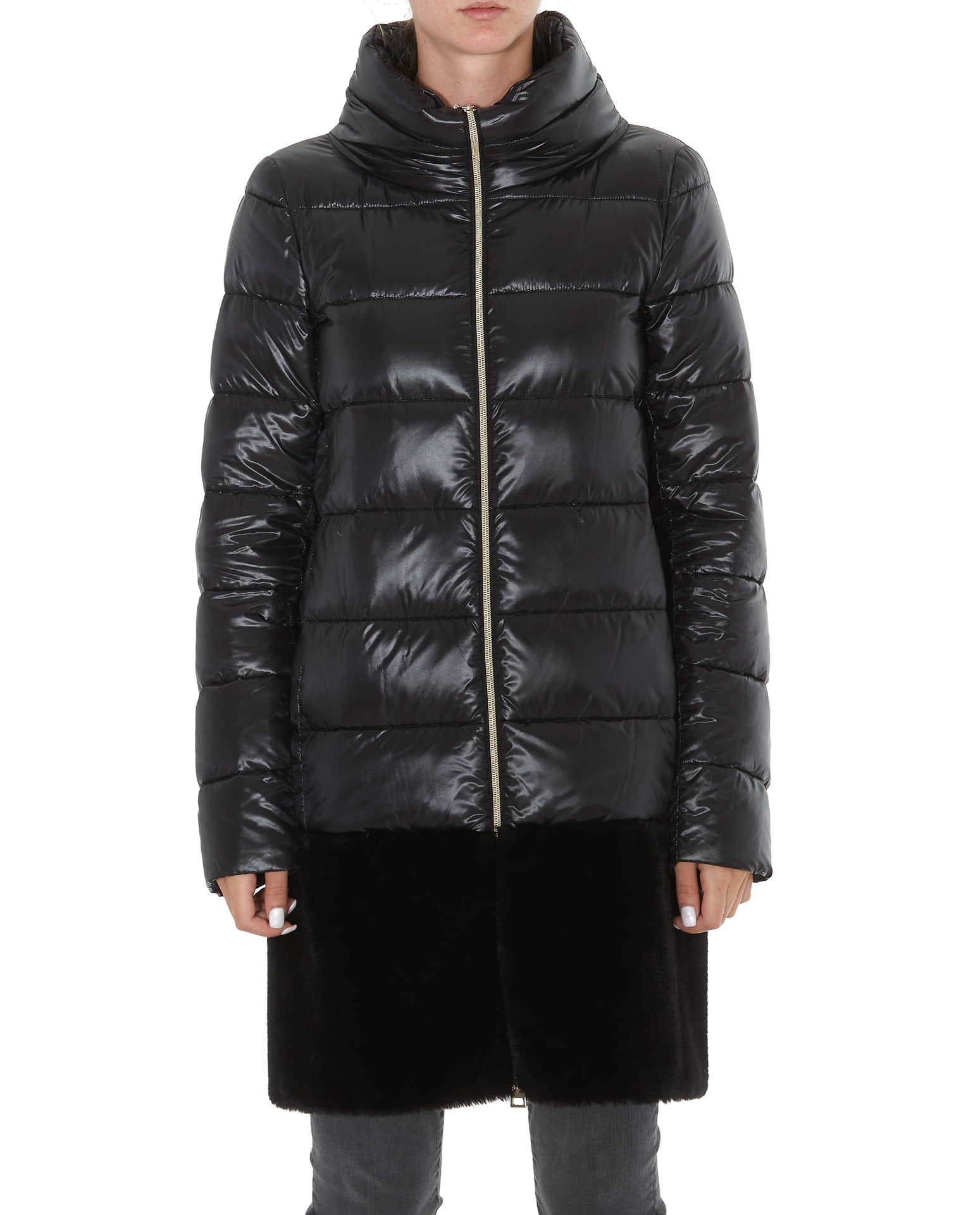 Herno Down Jacket With Ecofur