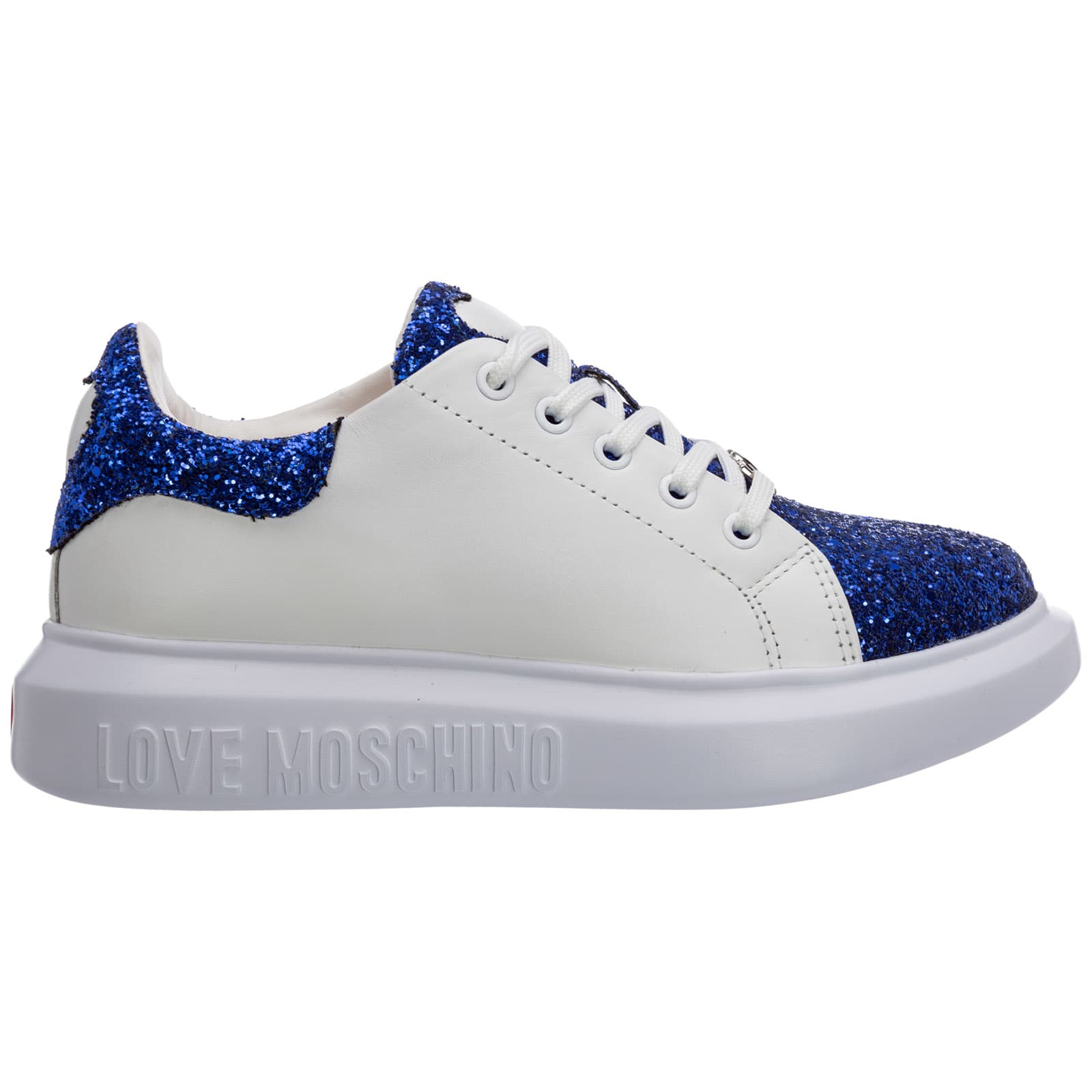 Buy Love Moschino Pure Star Sneakers online, shop Love Moschino shoes with free shipping