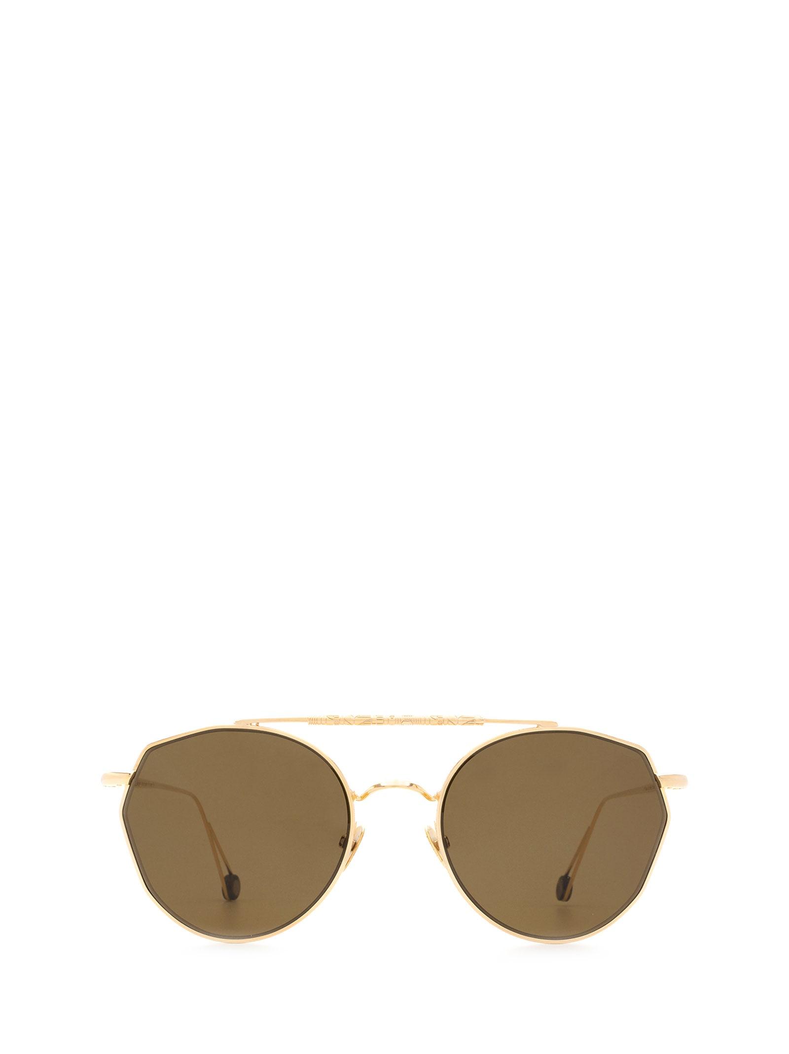 AHLEM Ahlem Place Carree Champagne Sunglasses
